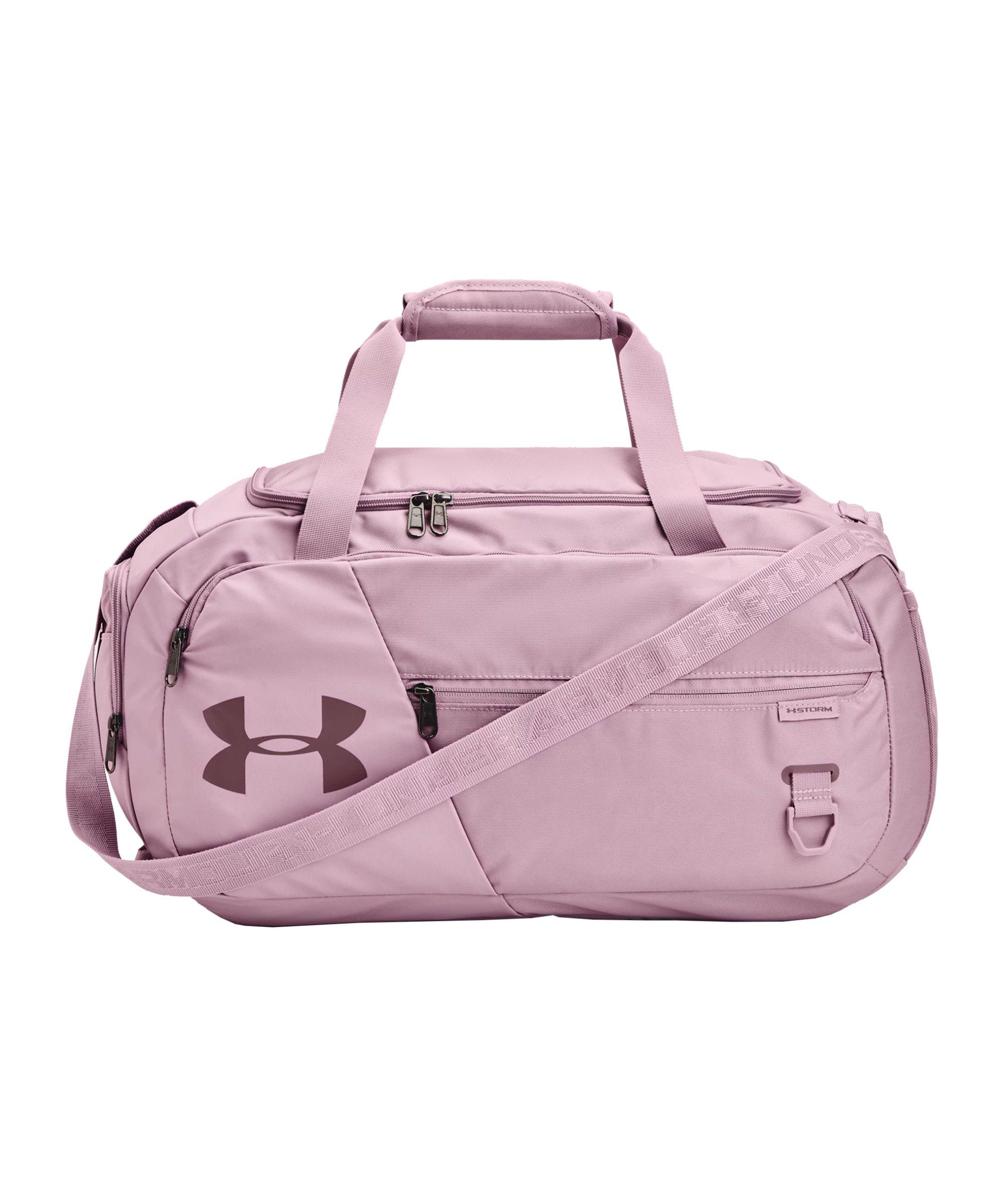 Under Armour Duffle 4.0 Sporttasche S Pink F698 - pink