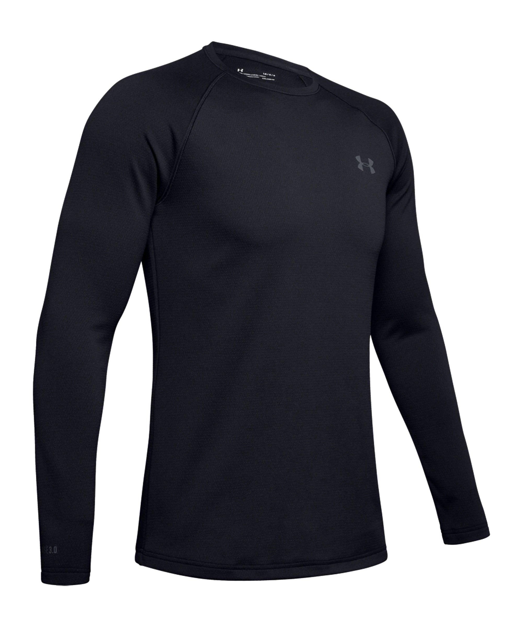 Under Armour Coldgear Base 3.0 Sweatshirt F001 - schwarz