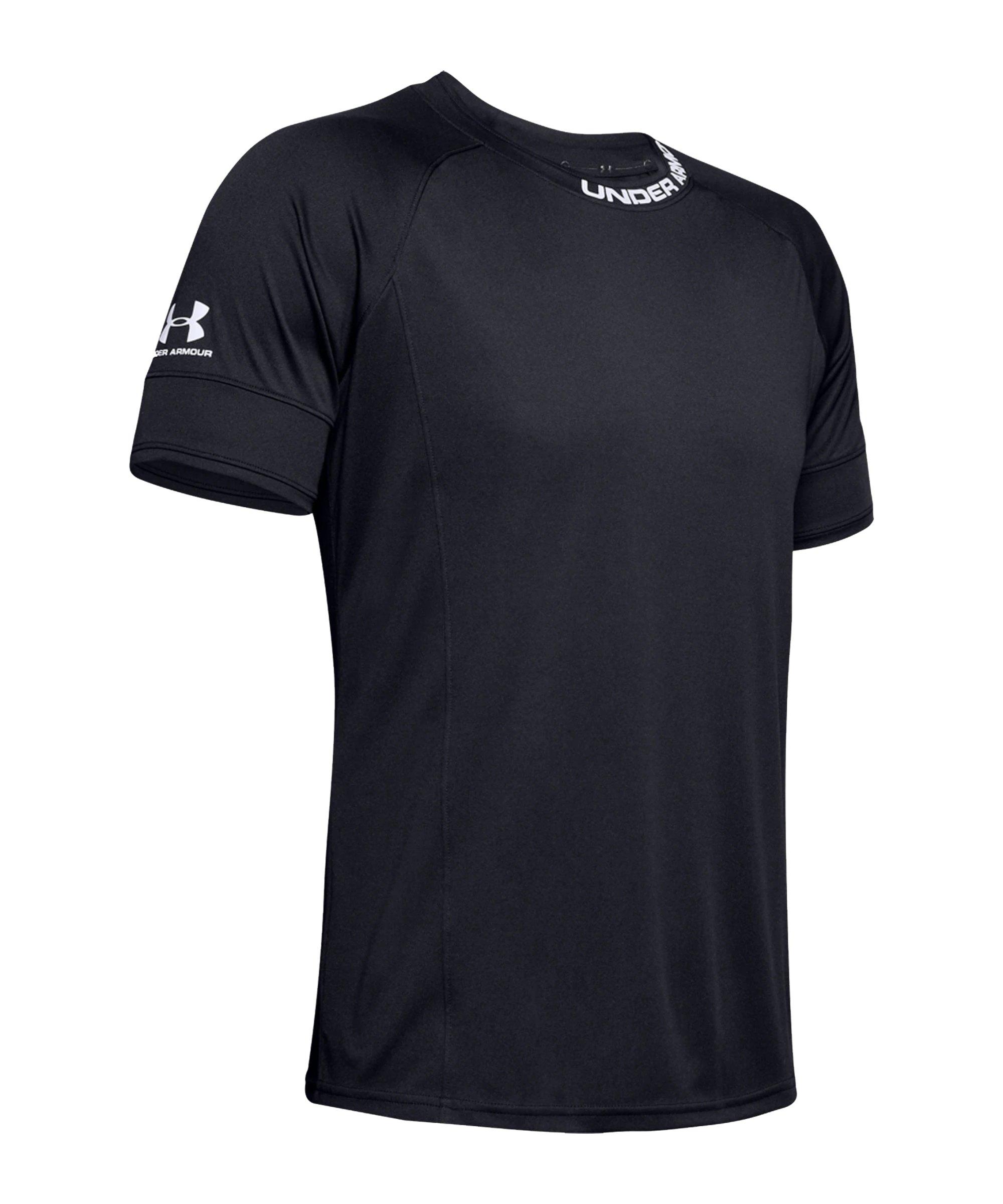 Under Armour Challenger III T-Shirt Schwarz F001 - schwarz
