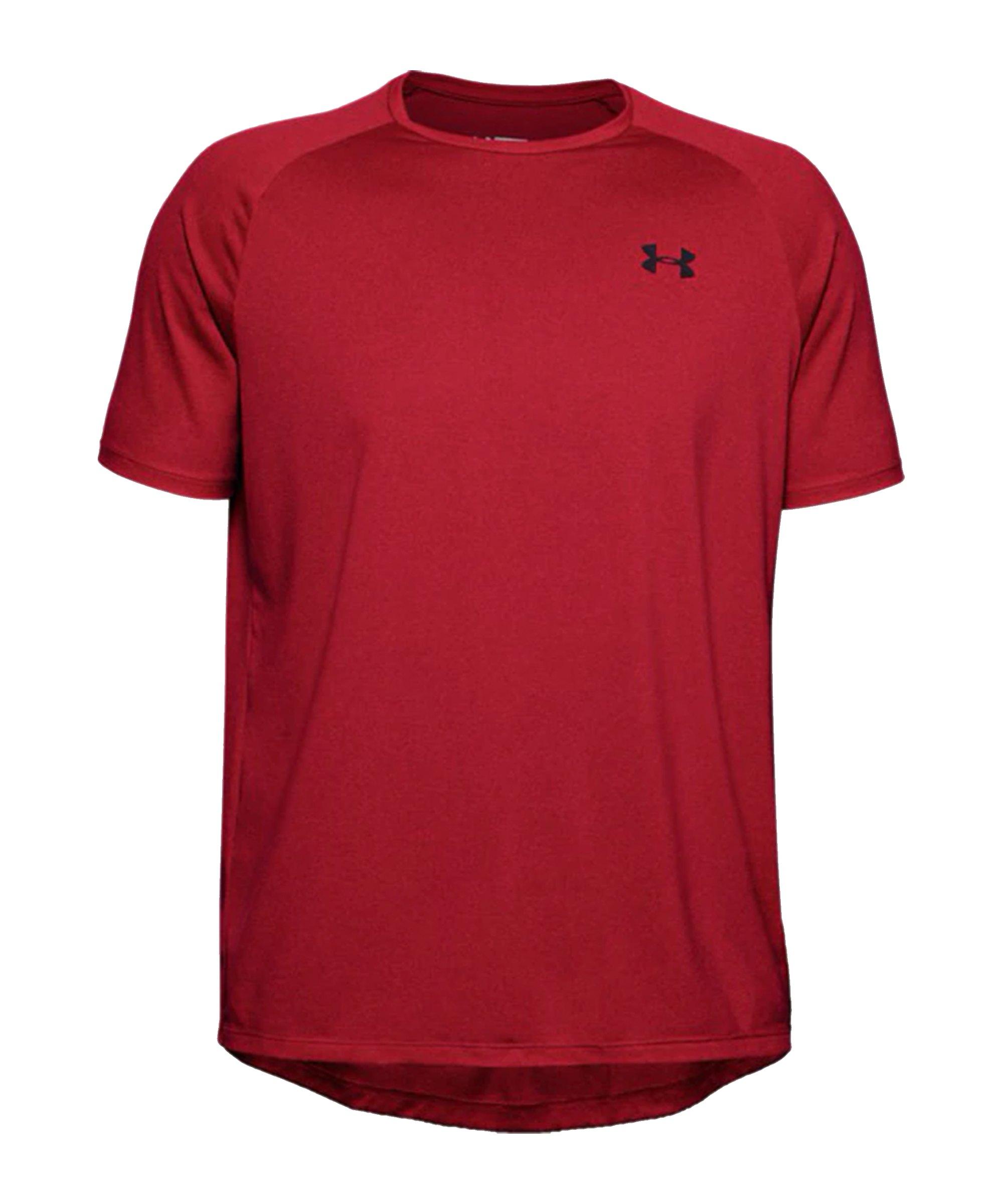 Under Armour Tech 2.0 T-Shirt Rot F600 - rot