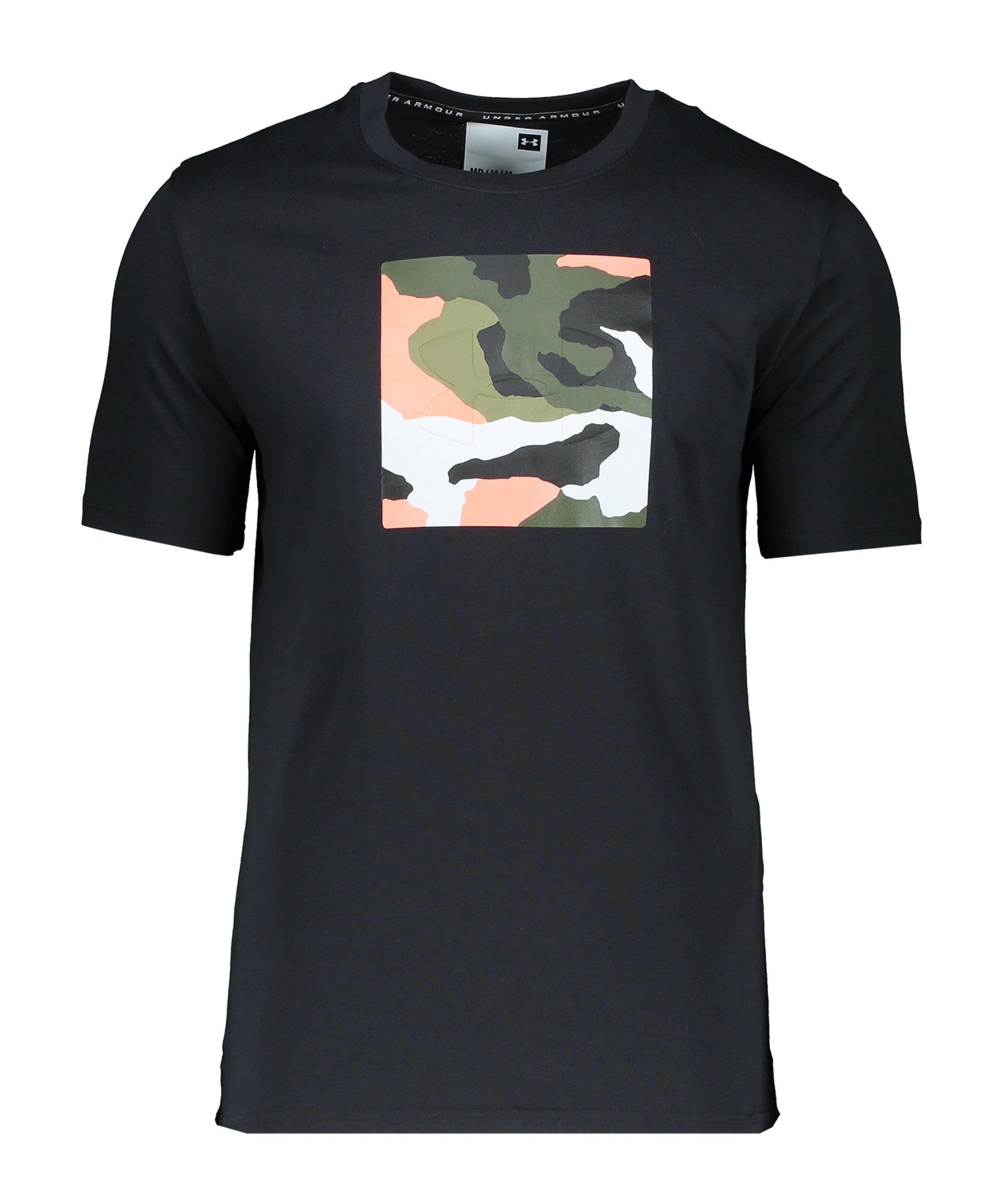 Under Armour Unstoppable Camo T-Shirt Schwarz F001 - schwarz