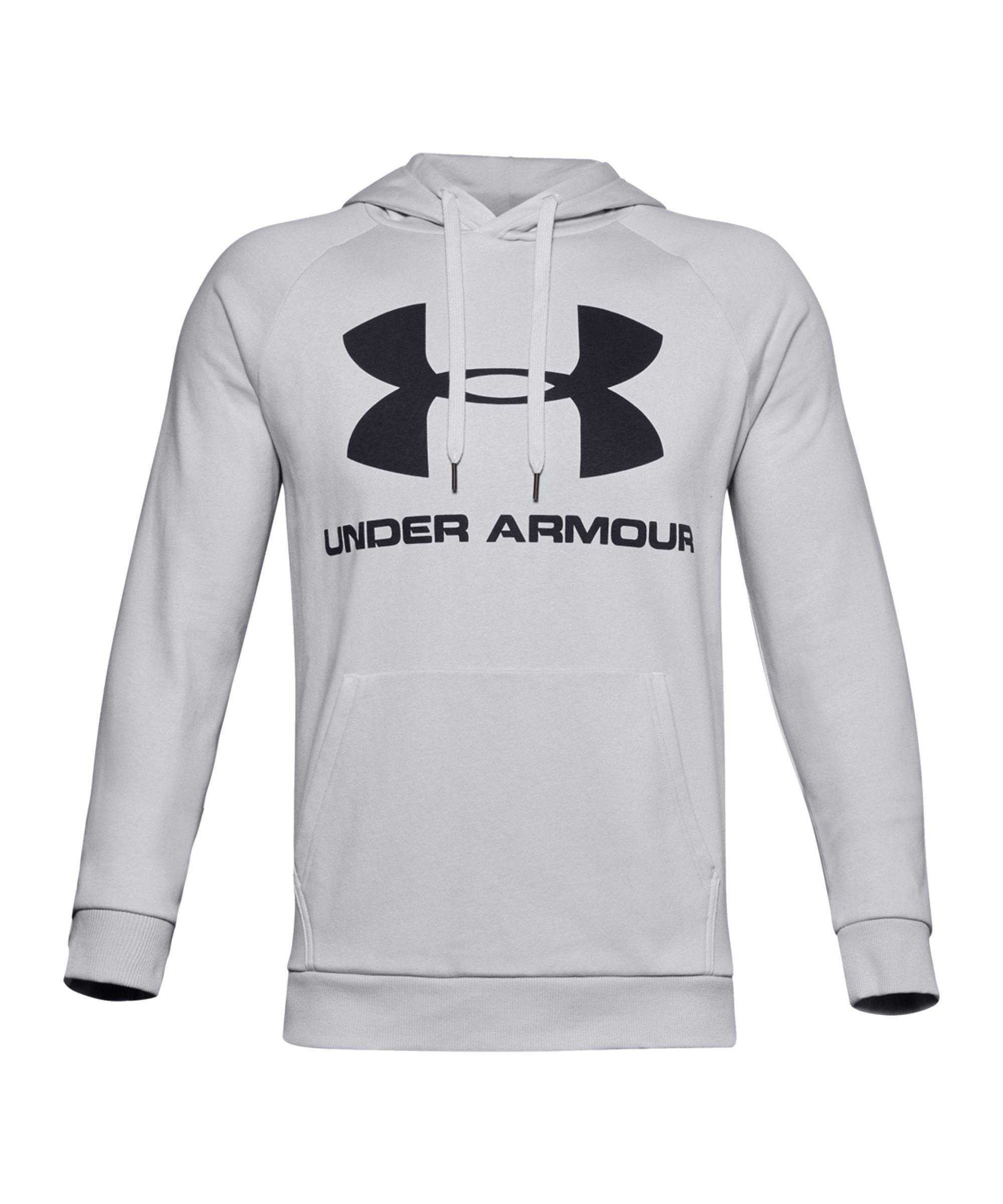 Under Armour RivalFleece Sportstyle Hoody F014 - grau