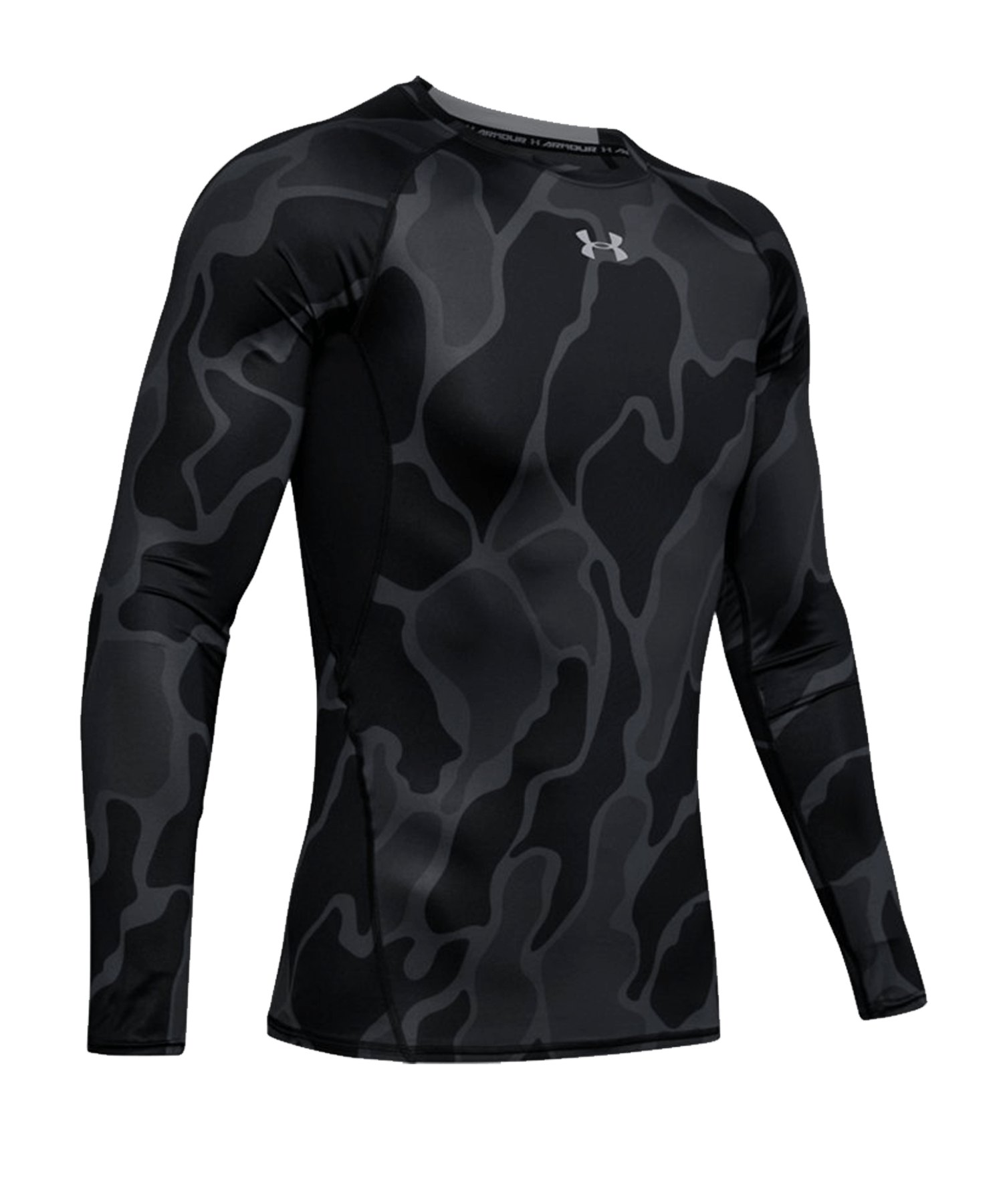 Under Armour Heatgear Longsleeve Shirt F002 - schwarz