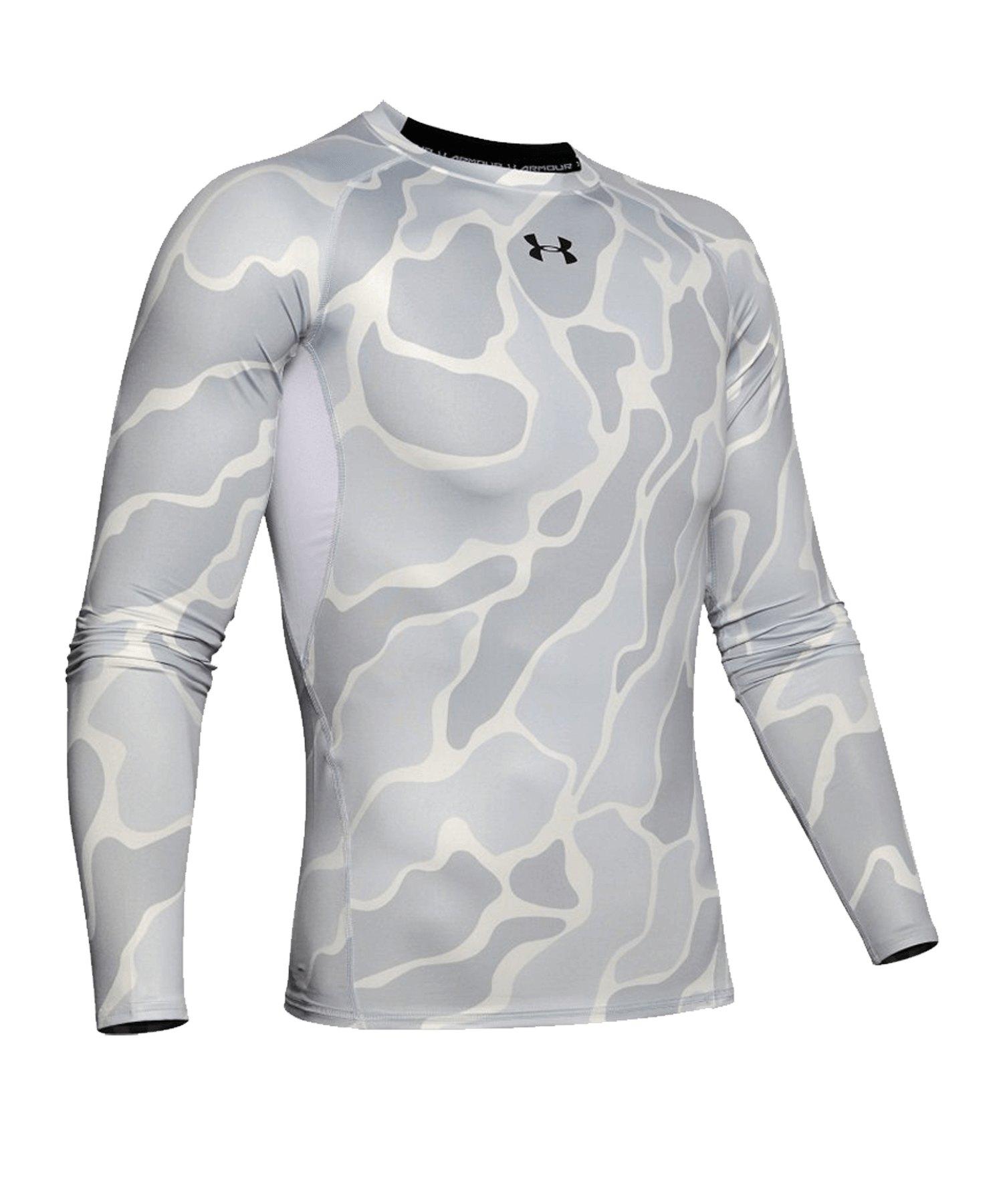 Under Armour Heatgear Longsleeve Shirt F101 - weiss