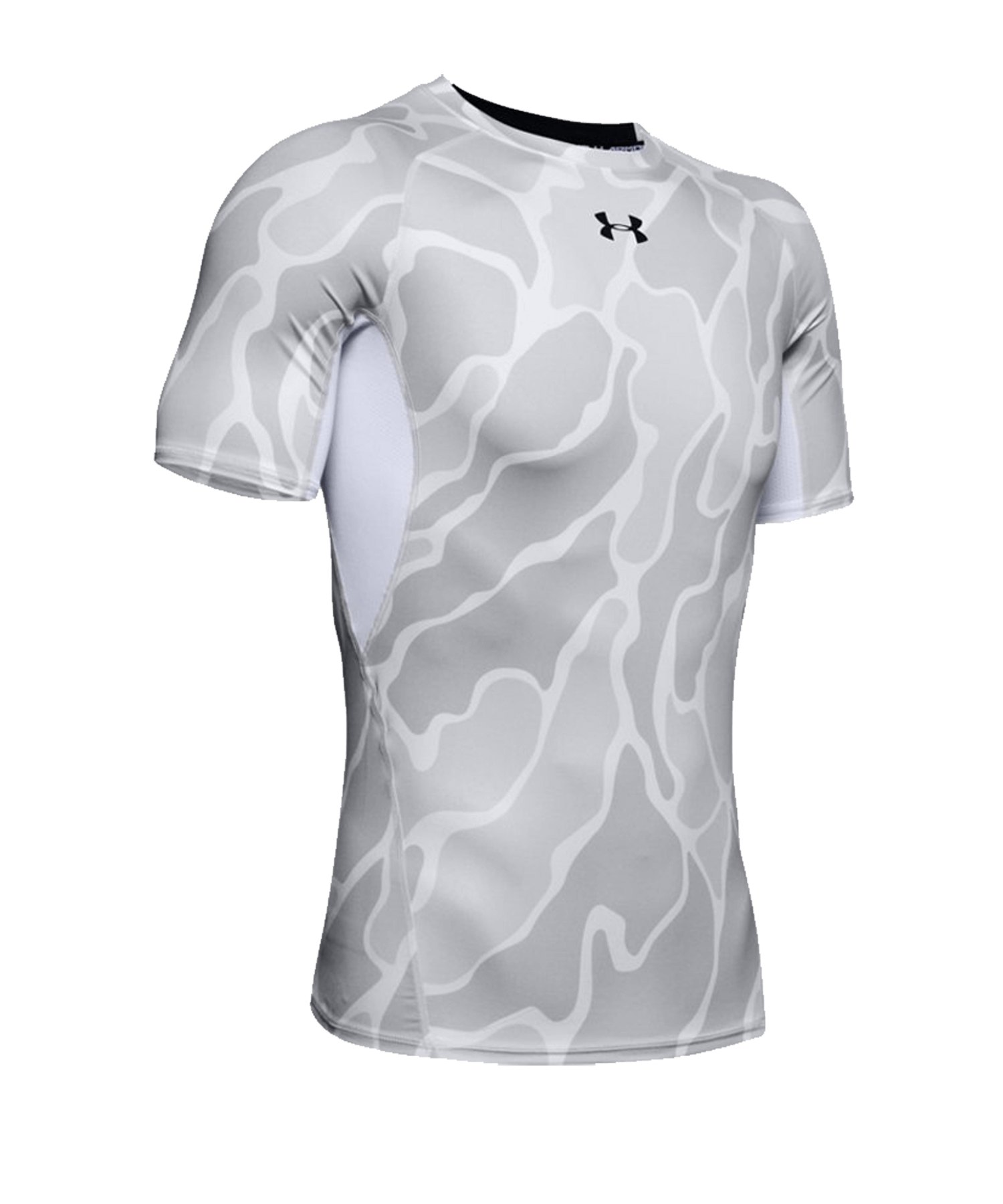 Under Armour Heatgear Print T-Shirt Weiss F101 - weiss