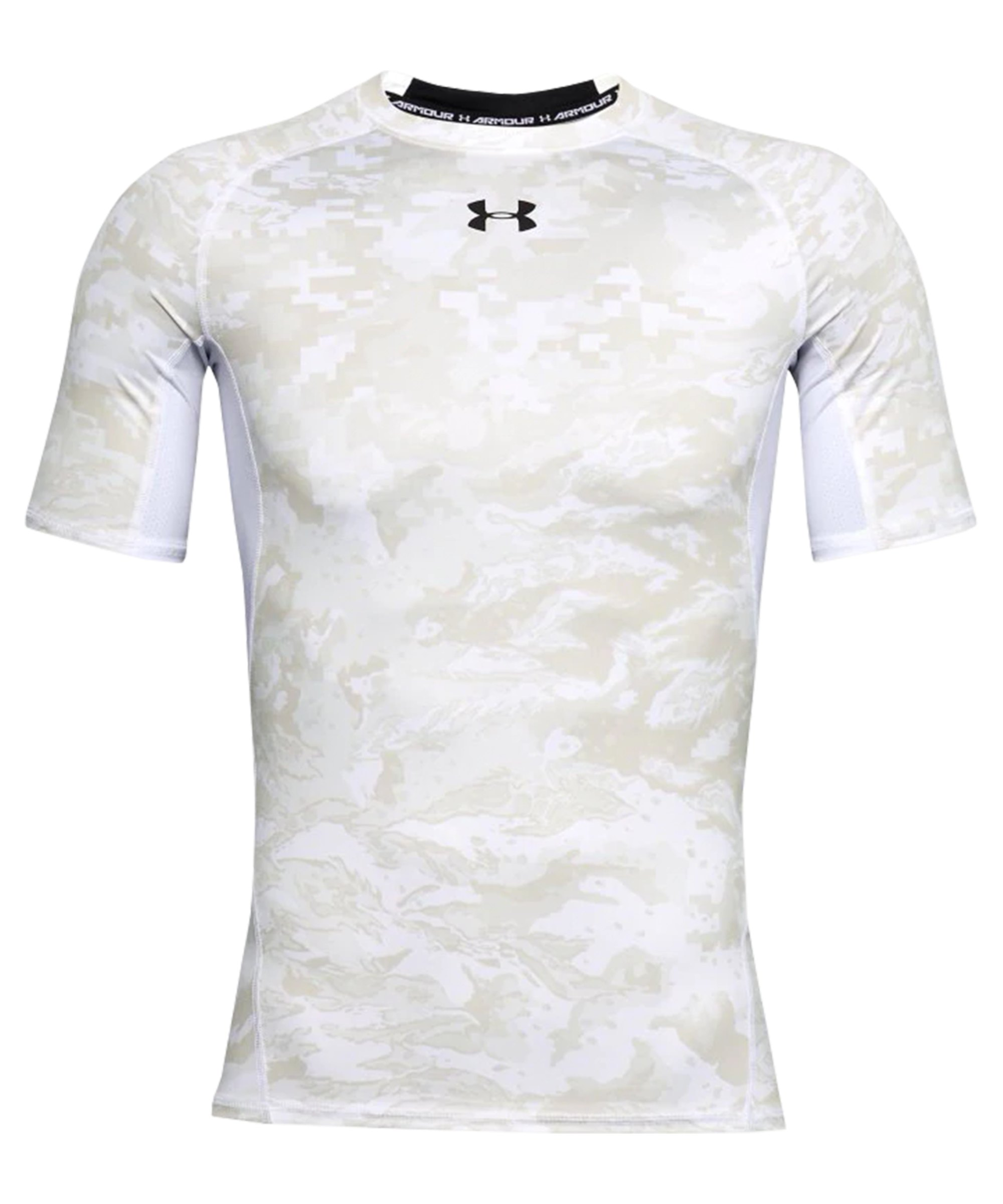 Under Armour Heatgear Print T-Shirt Weiss F102 - weiss