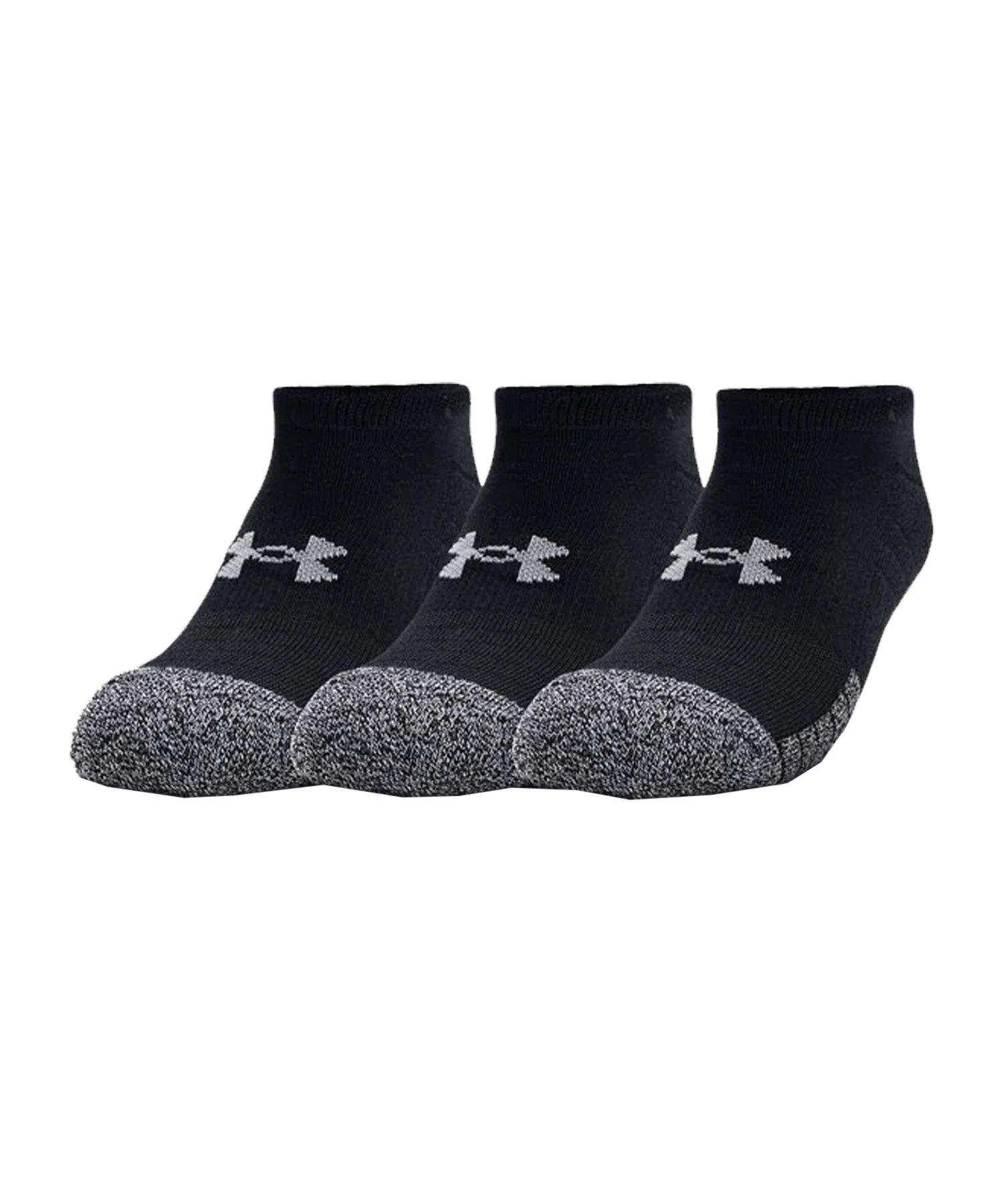 Under Armour HeatGear NoShow Socken F001 - schwarz