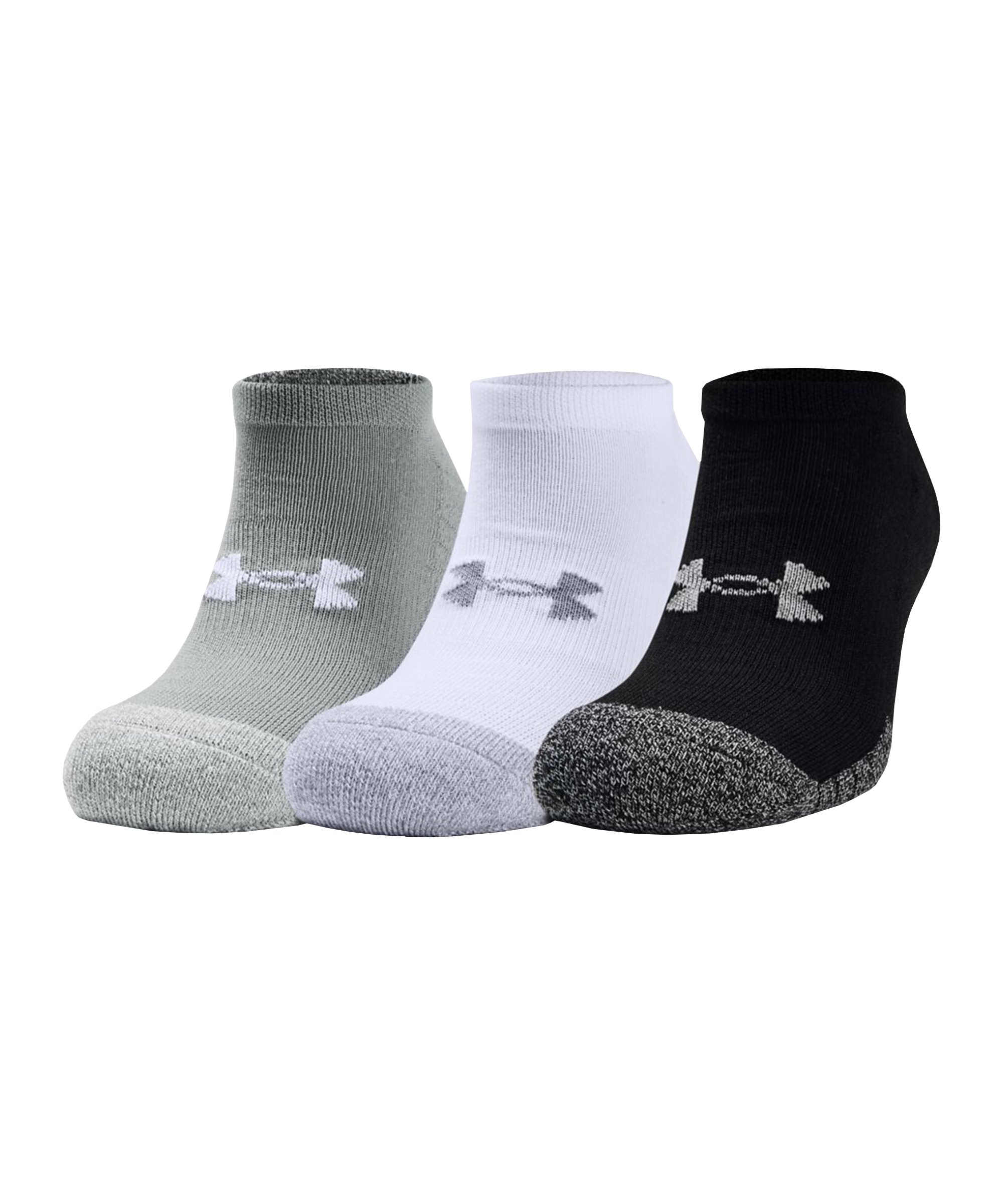 Under Armour HeatGear NoShow Socken F035 - grau
