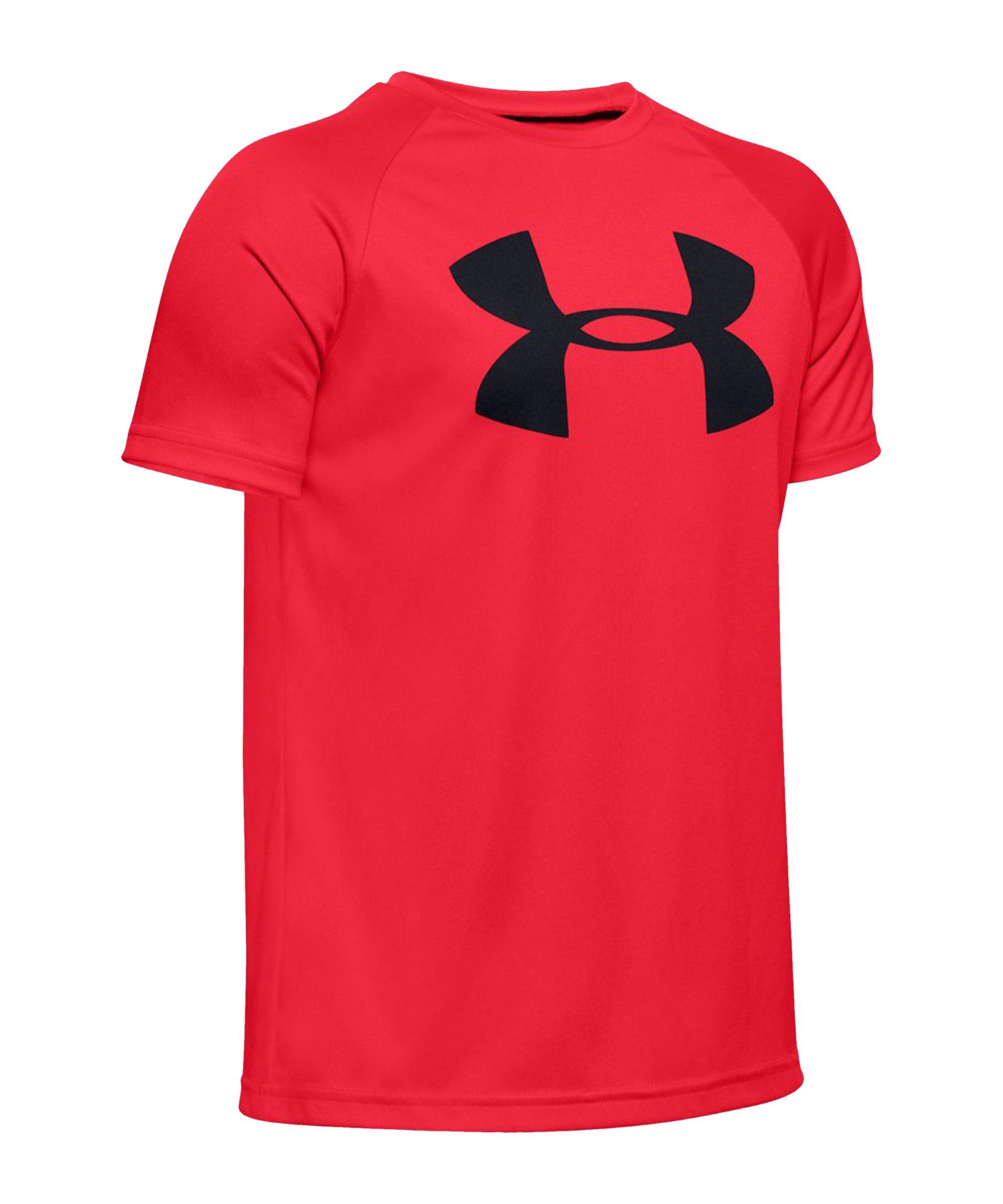 Under Armour Tech Big Logo T-Shirt Kids Rot F600 - rot