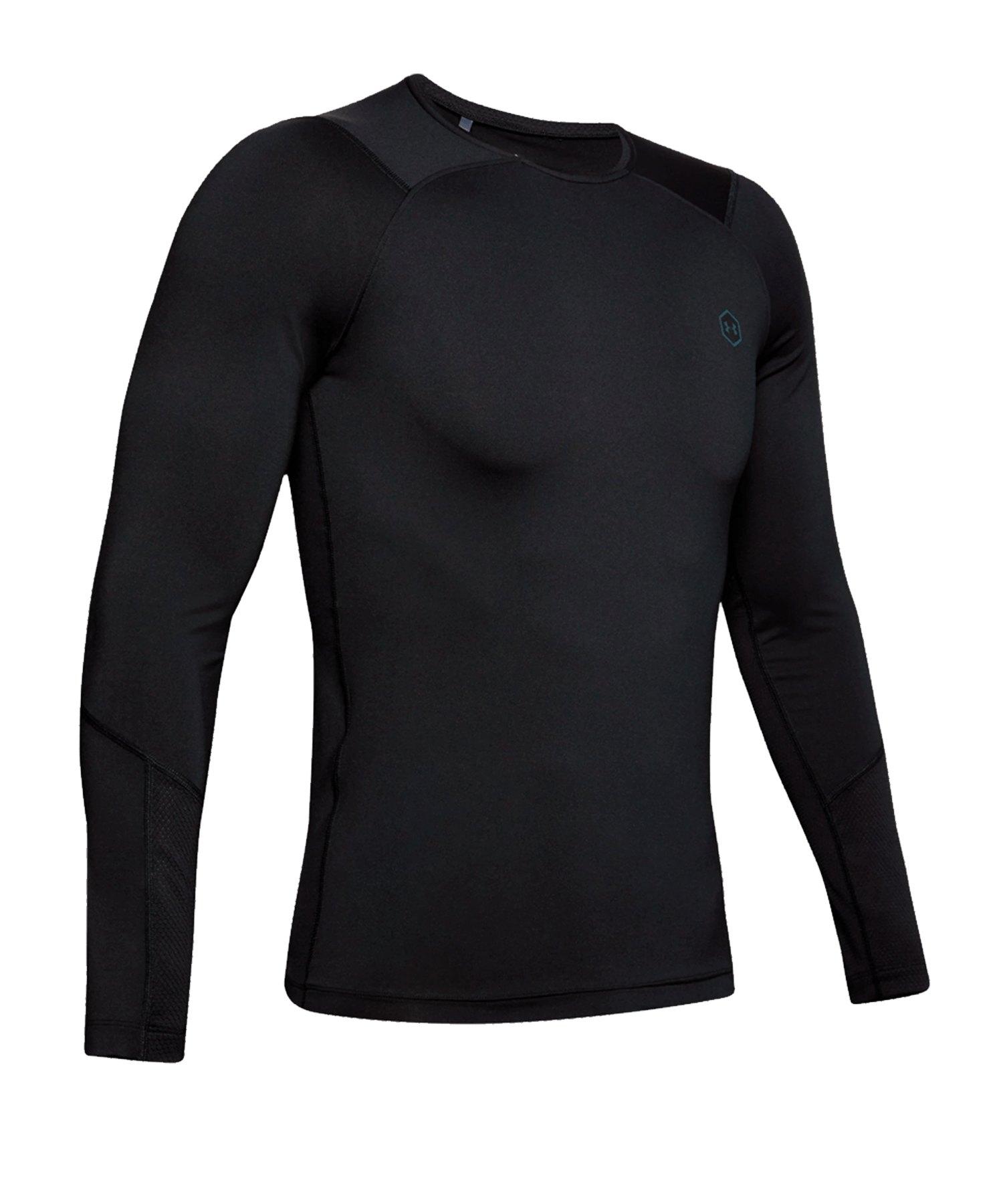 Under Armour HG Rush Compression LS Shirt F001 - schwarz