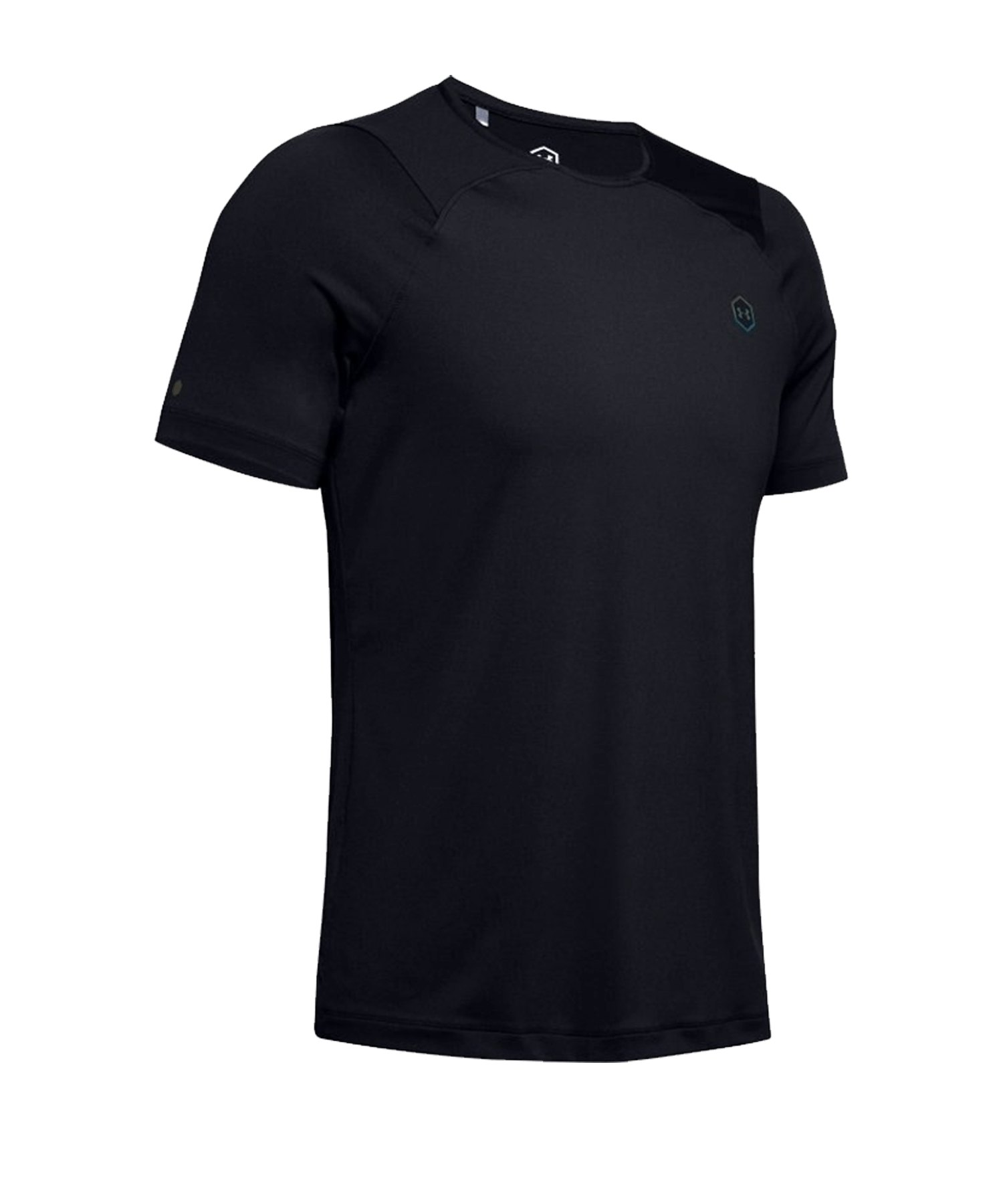 Under Armour HG Rush Fitted Shortsleeve F001 - schwarz