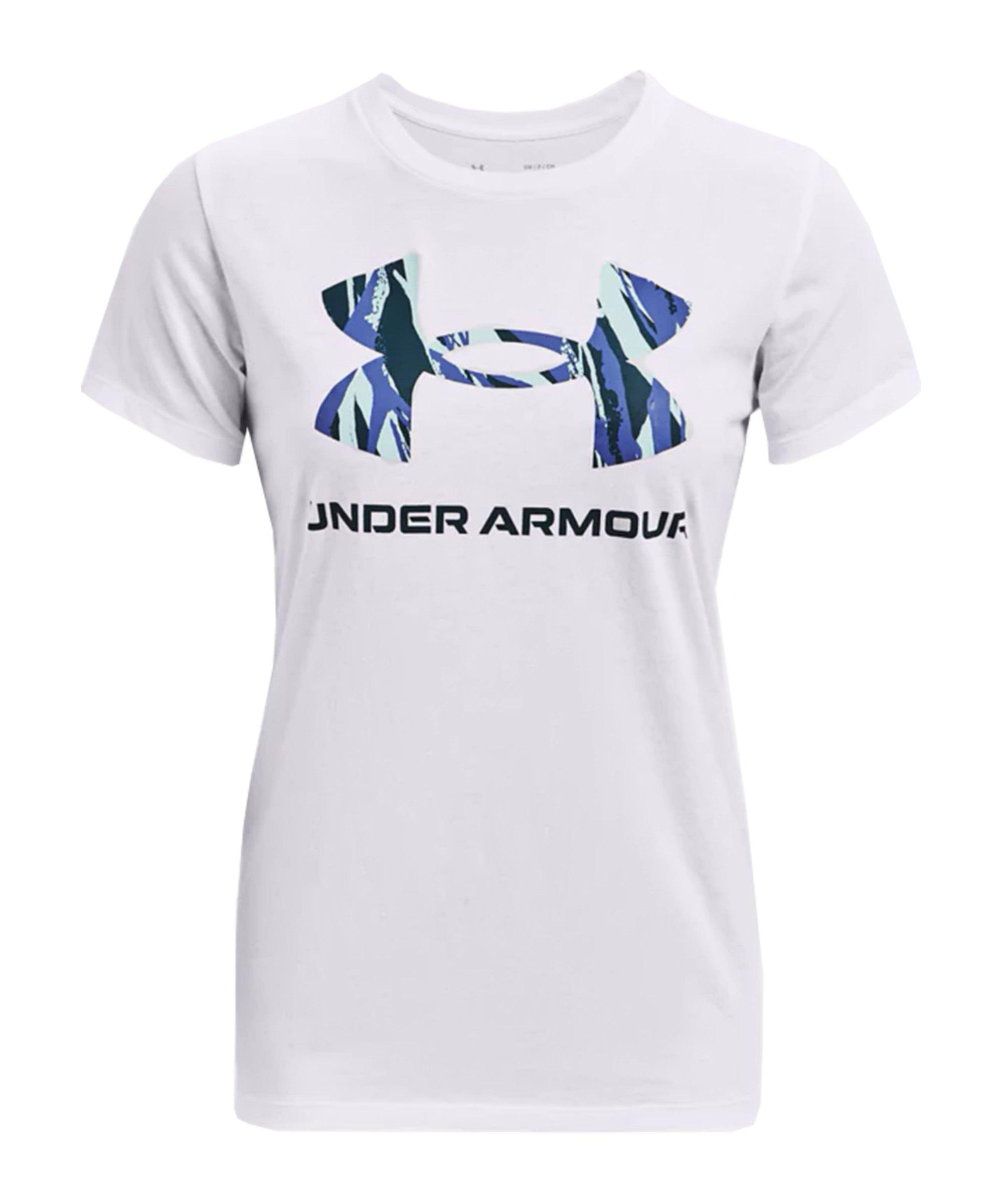 Under Armour Sportstyle Graphic T-Shirt Damen F104 - weiss