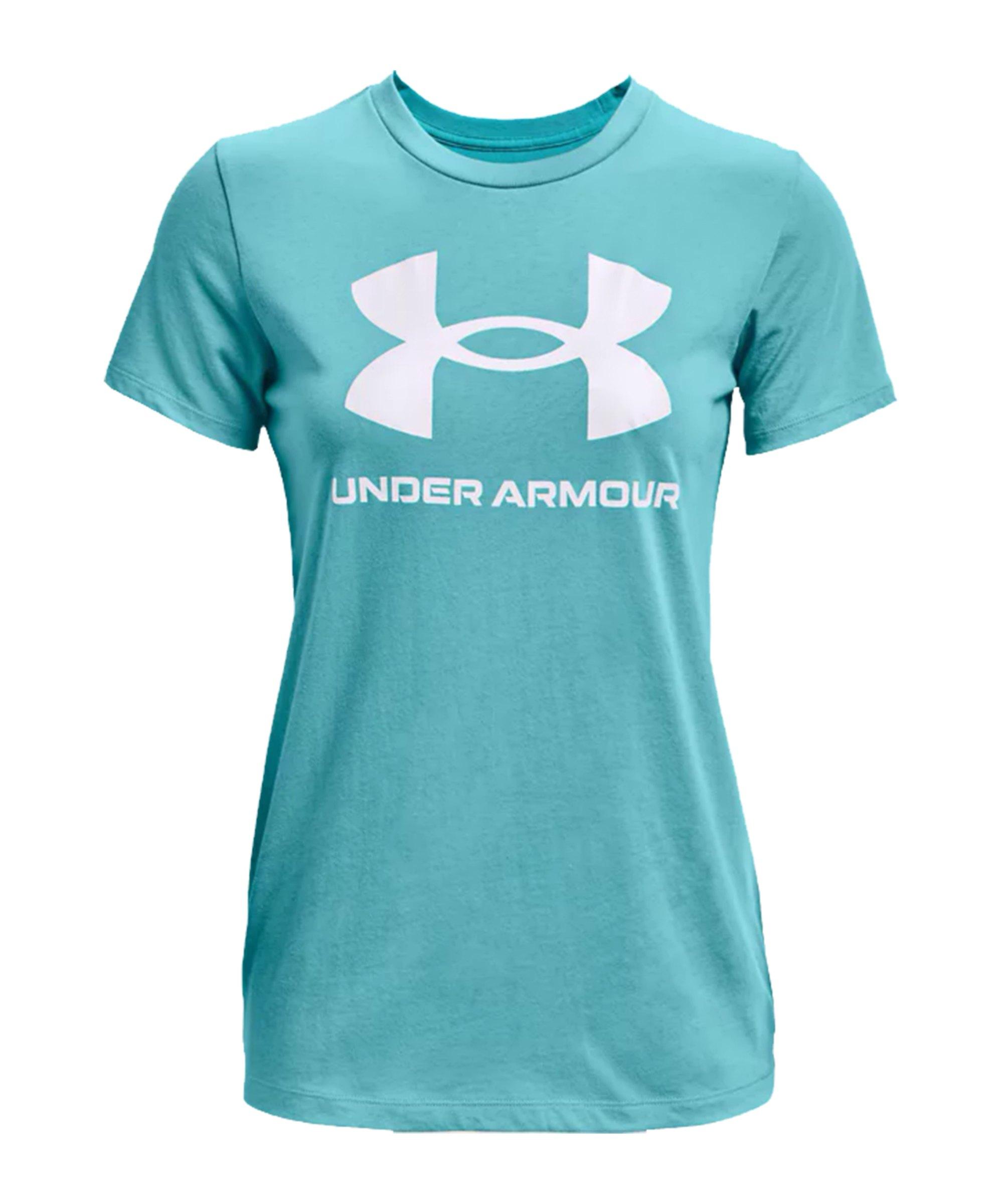 Under Armour Sportstyle Graphic T-Shirt Damen F476 - tuerkis
