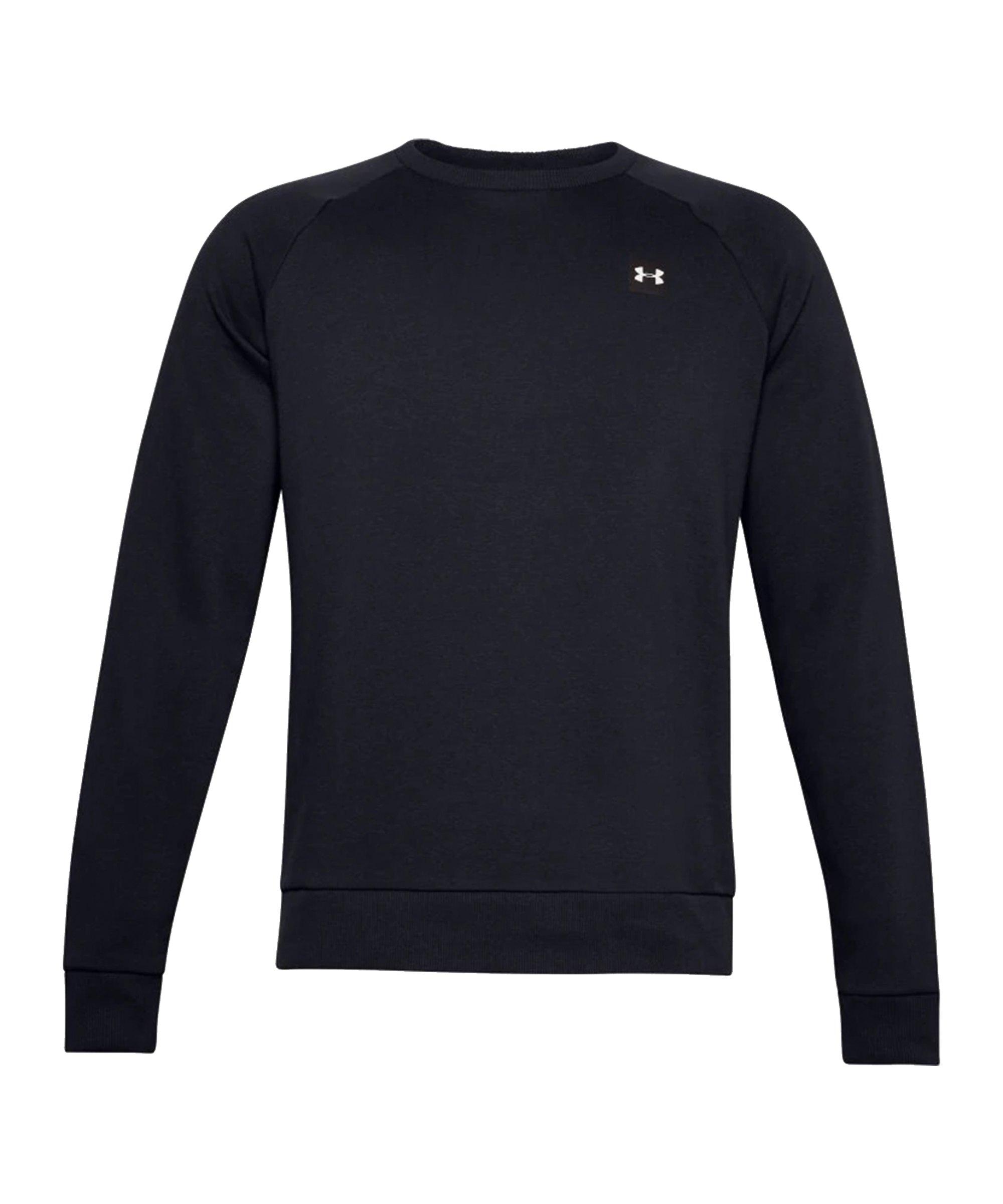 Under Armour Rival Fleece Crew Sweatshirt F001 - schwarz