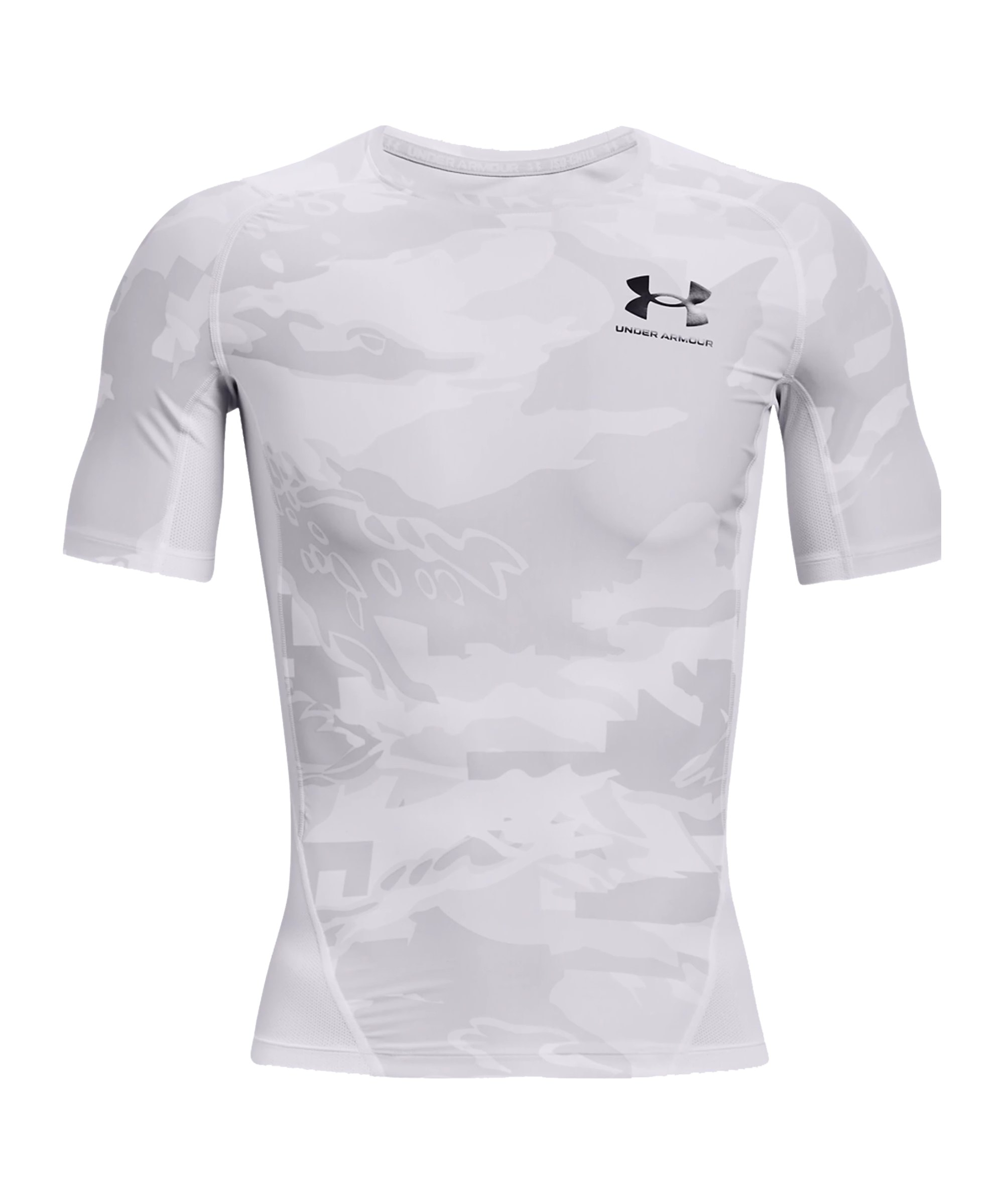 Under Armour HG Compression T-Shirt Training F100 - weiss