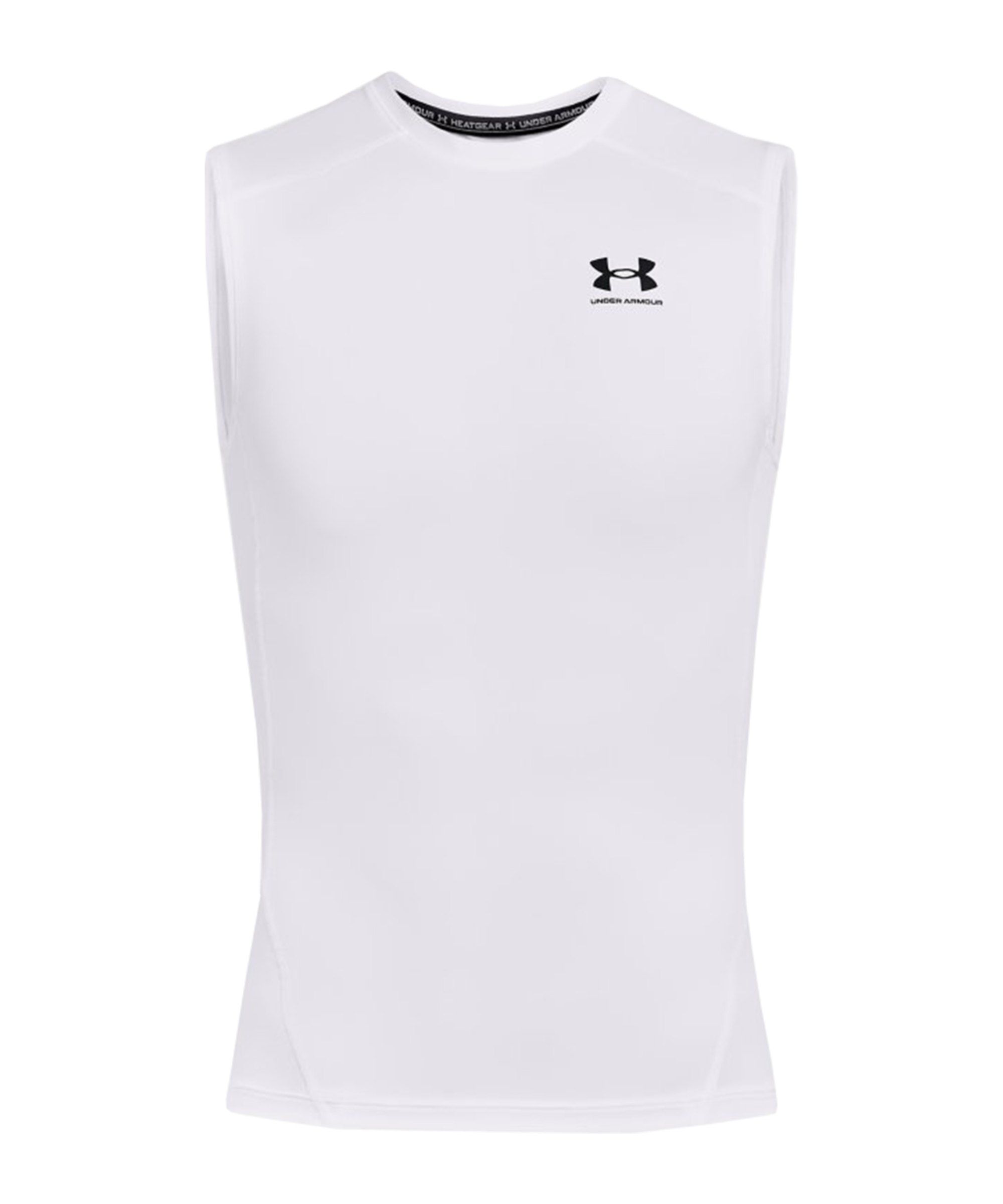 Under Armour HG Compression Tanktop Weiss F100 - weiss