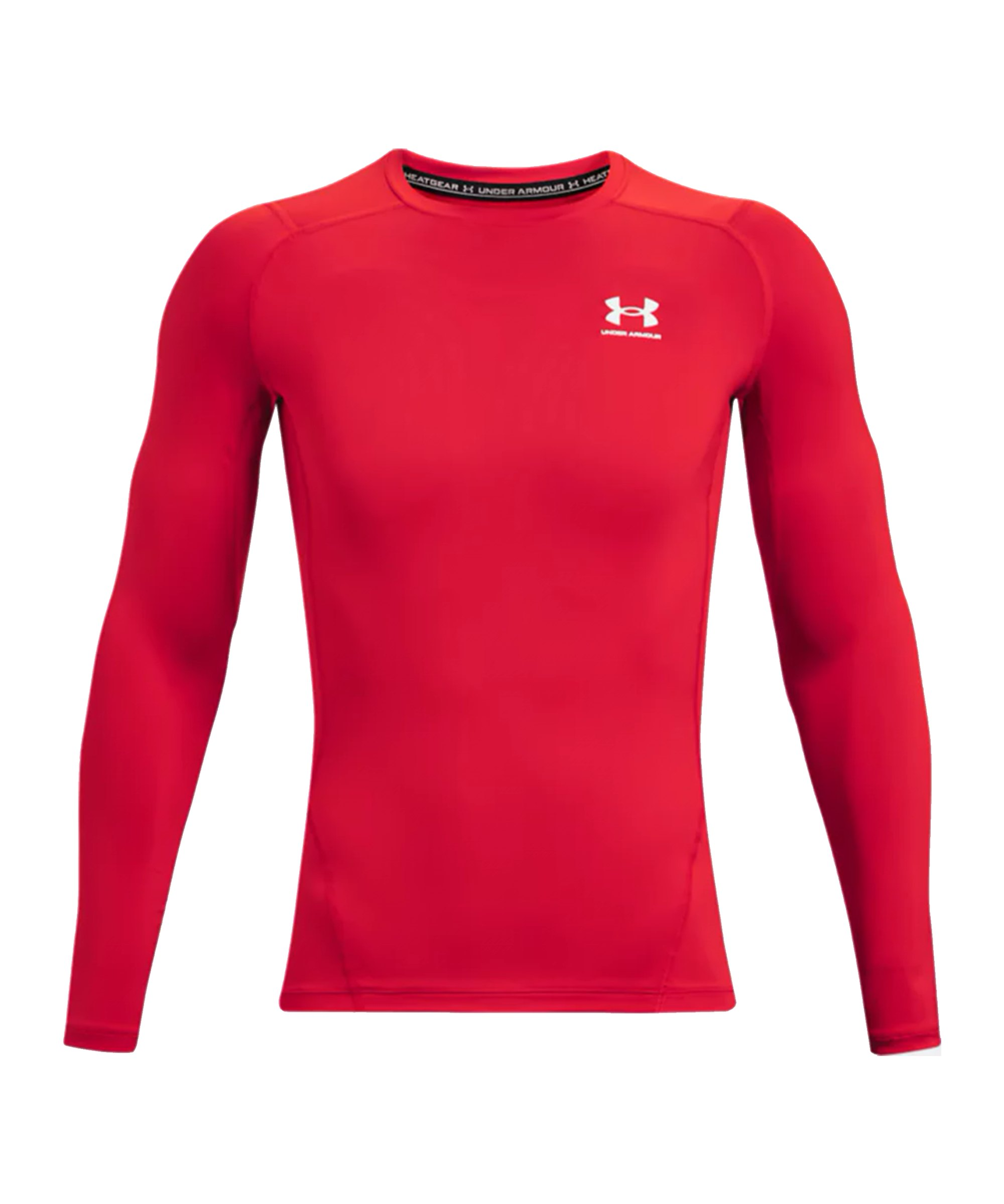 Under Armour HG Compression Langarmshirt Rot F600 - rot