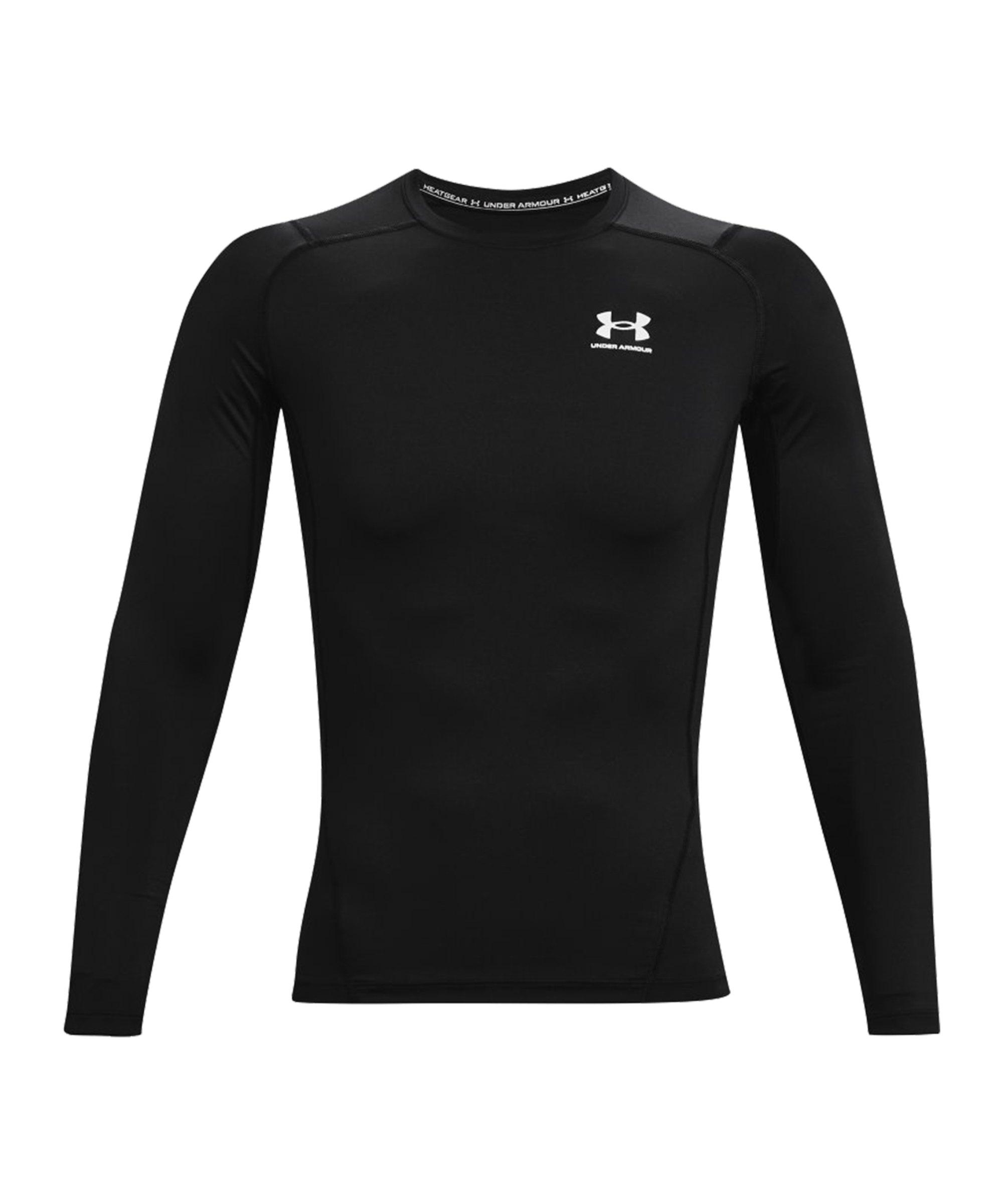 Under Armour HG Compression Sweatshirt F001 - schwarz