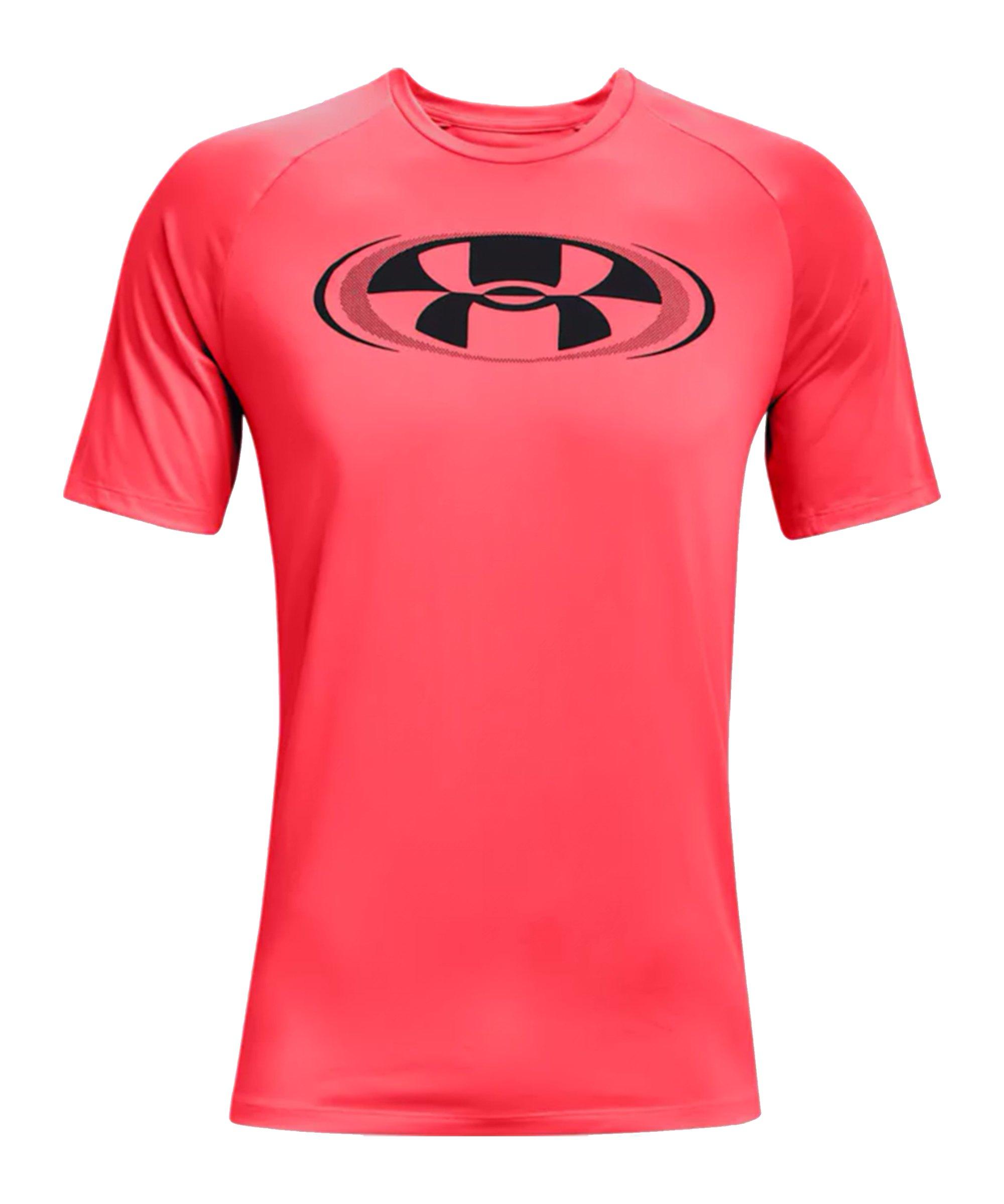 Under Armour Tech 2.0 Circuit T-Shirt Rot F628 - rot