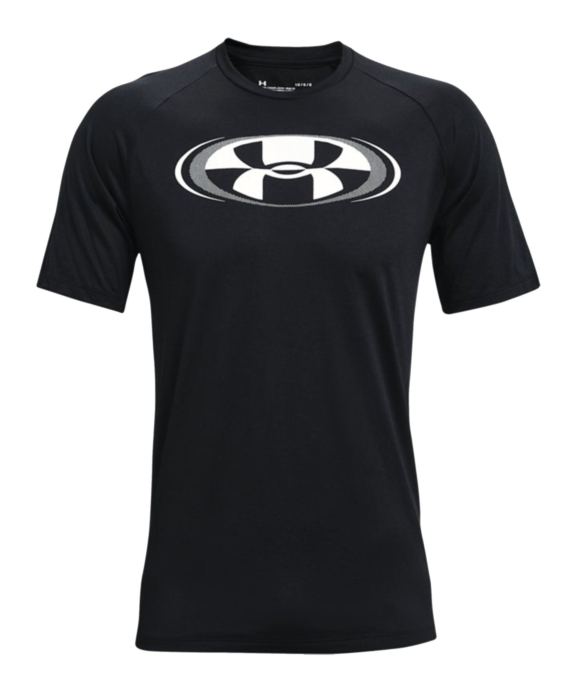 Under Armour Tech 2.0 Circuit T-Shirt Schwarz F001 - schwarz
