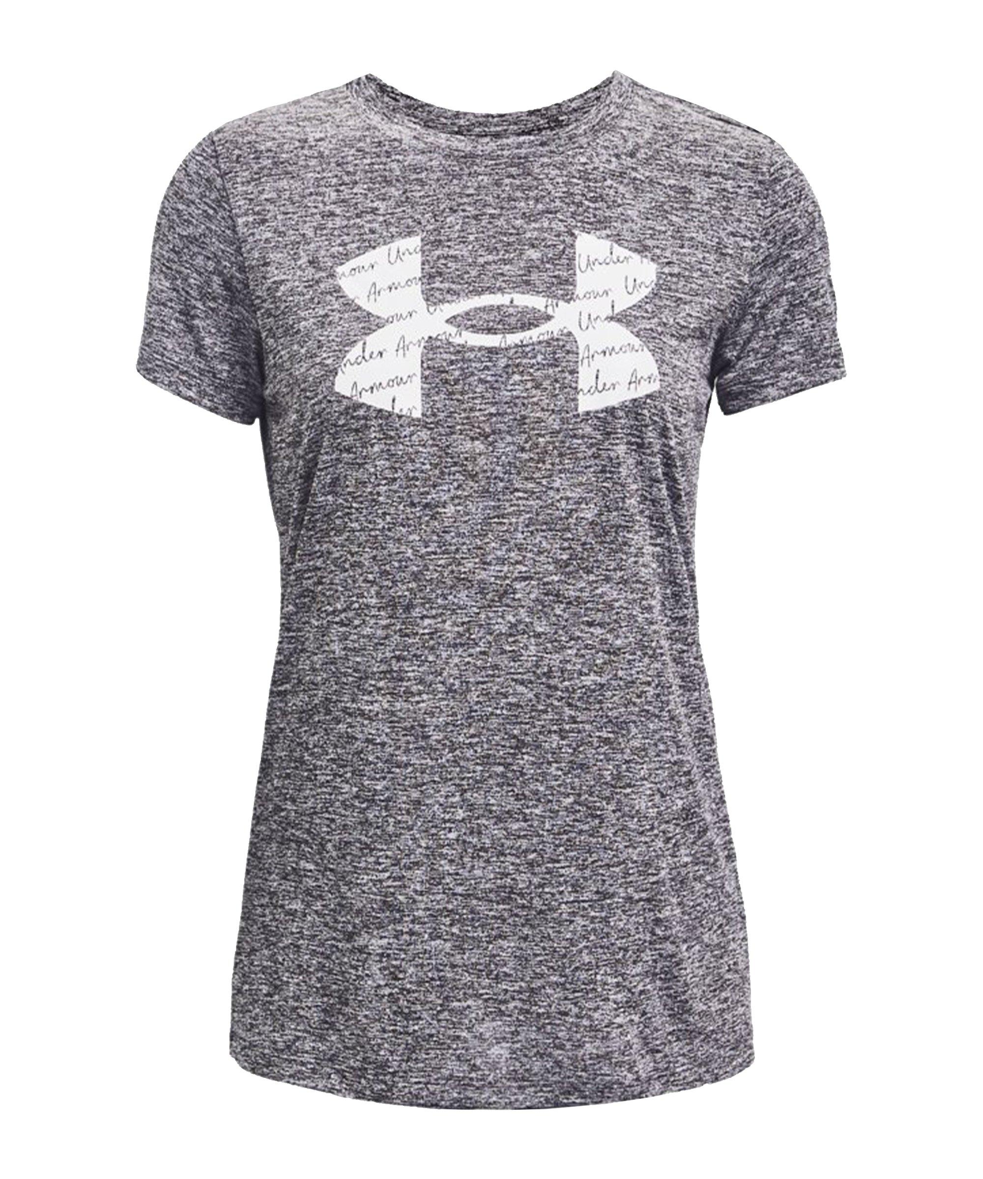 Under Armour Tech Twist T-Shirt Damen Grau F011 - grau