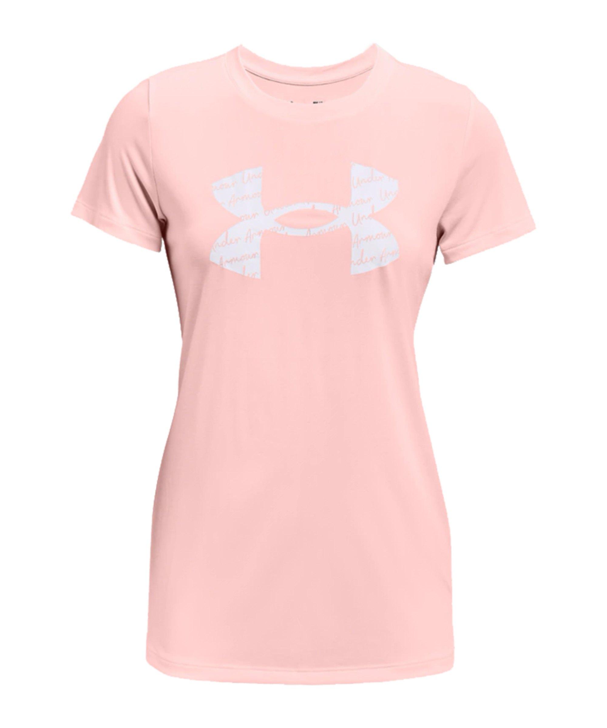 Under Armour Tech Twist T-Shirt Damen Pink F658 - pink