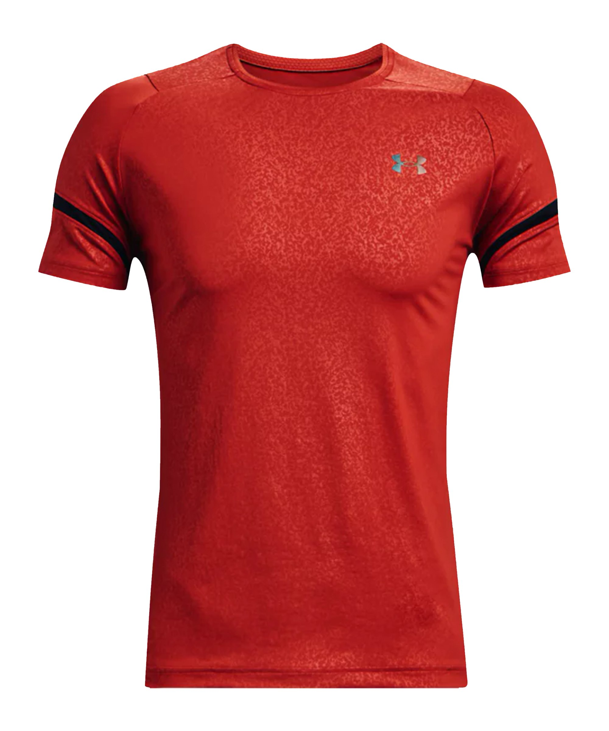 Under Armour Rush 2.0 Emboss T-Shirt Rot F839 - rot
