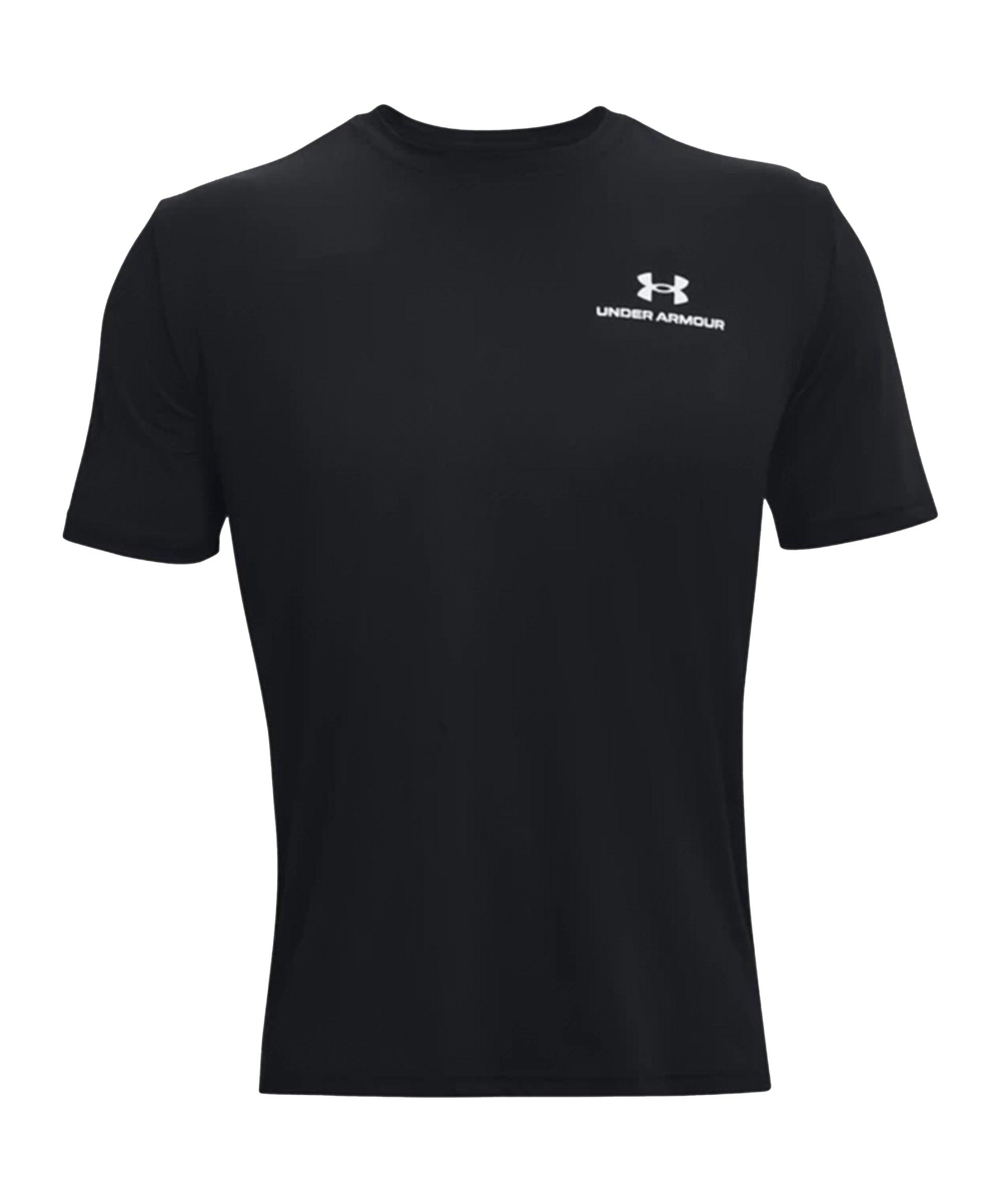 Under Armour Rush Energy T-Shirt Schwarz F001 - schwarz
