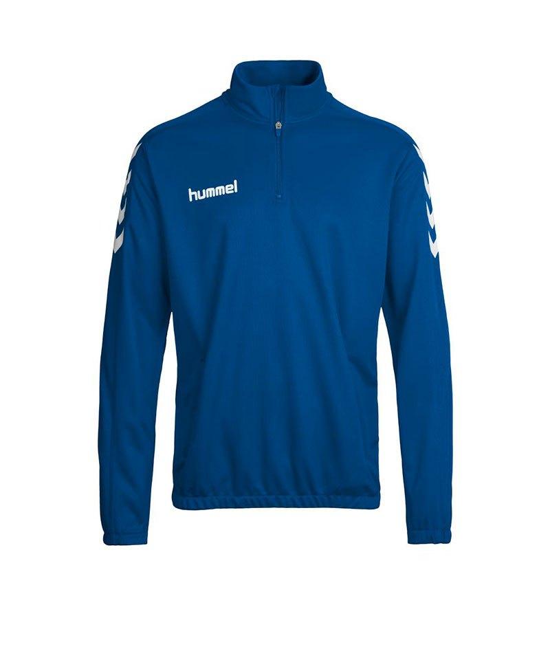 Hummel Trainingstop Core 1/2 Zip Kinder Blau F7045 - blau