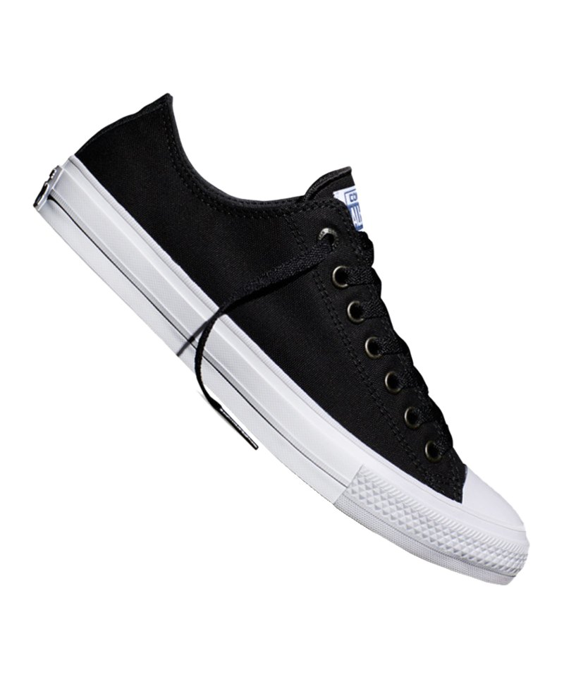 Converse Sneaker Chuck Taylor All Star II Schwarz - schwarz