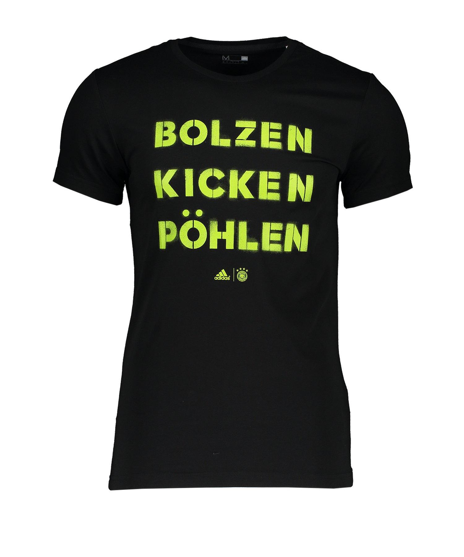 DFB Deutschland T-Shirt Schwarz - schwarz
