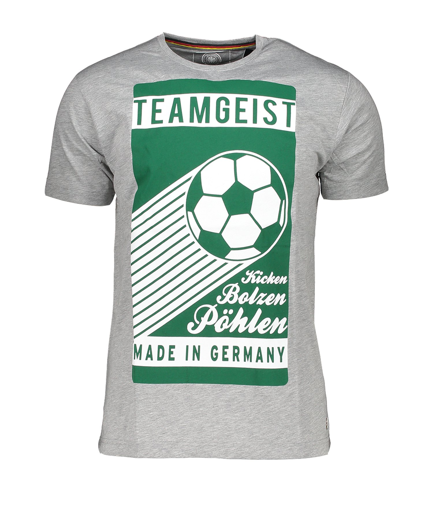 DFB Deutschland Teamgeist T-Shirt Grau - Grau