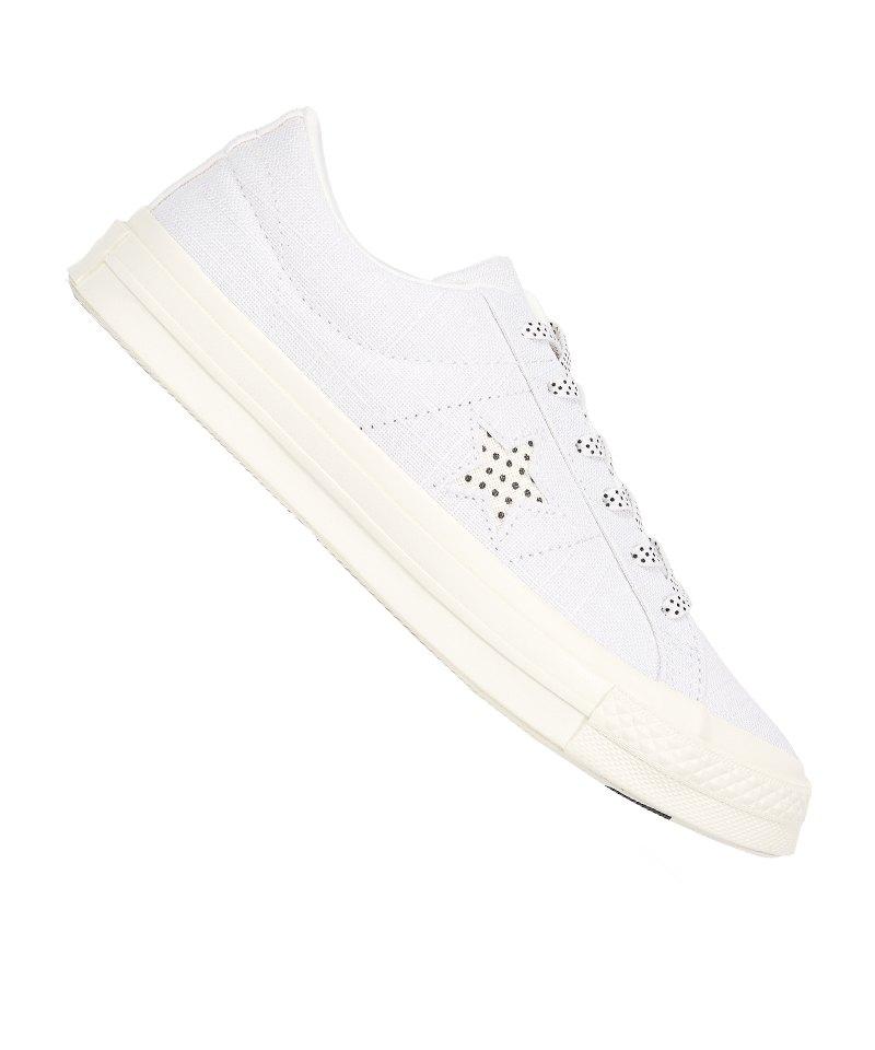 Converse One Star OX Sneaker Damen Weiss F102 - weiss