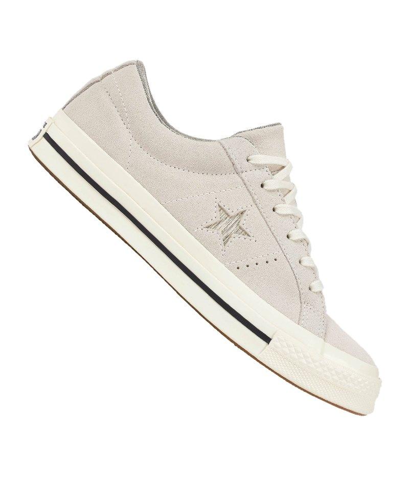 Converse One Star OX Sneaker Damen F281 - grau