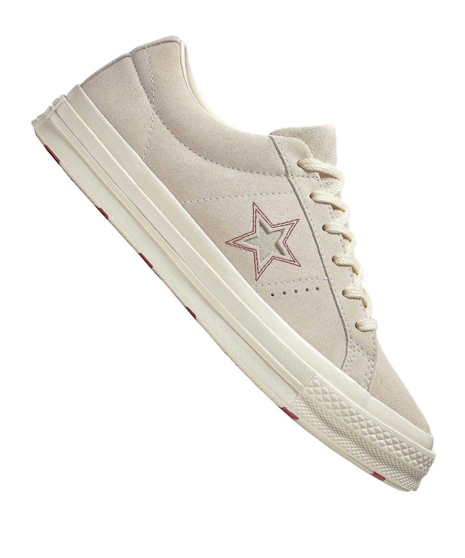 Converse One Star OX Sneaker Damen Beige F281 - beige