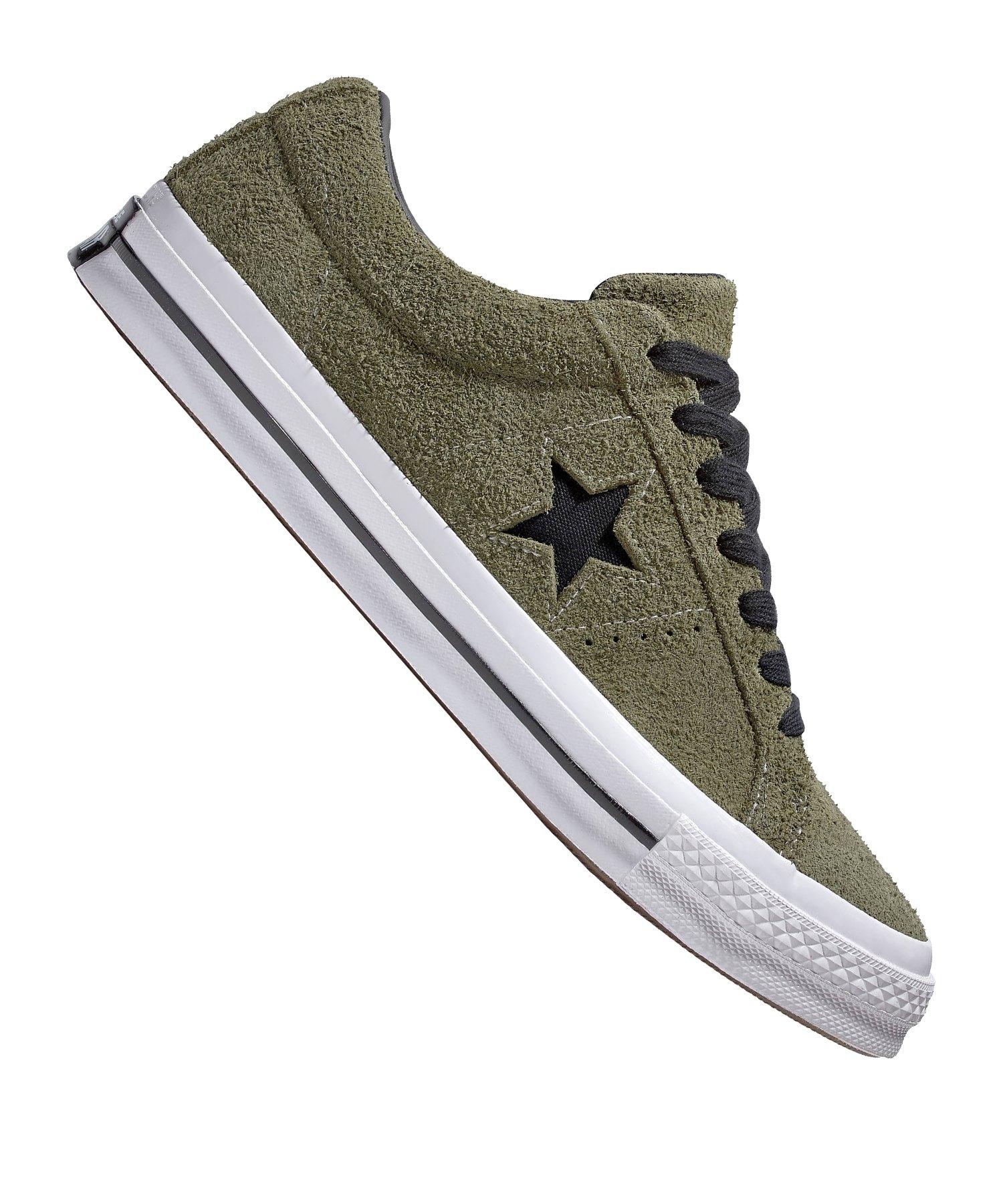 Converse One Star OX Sneaker Grün F322 - gruen