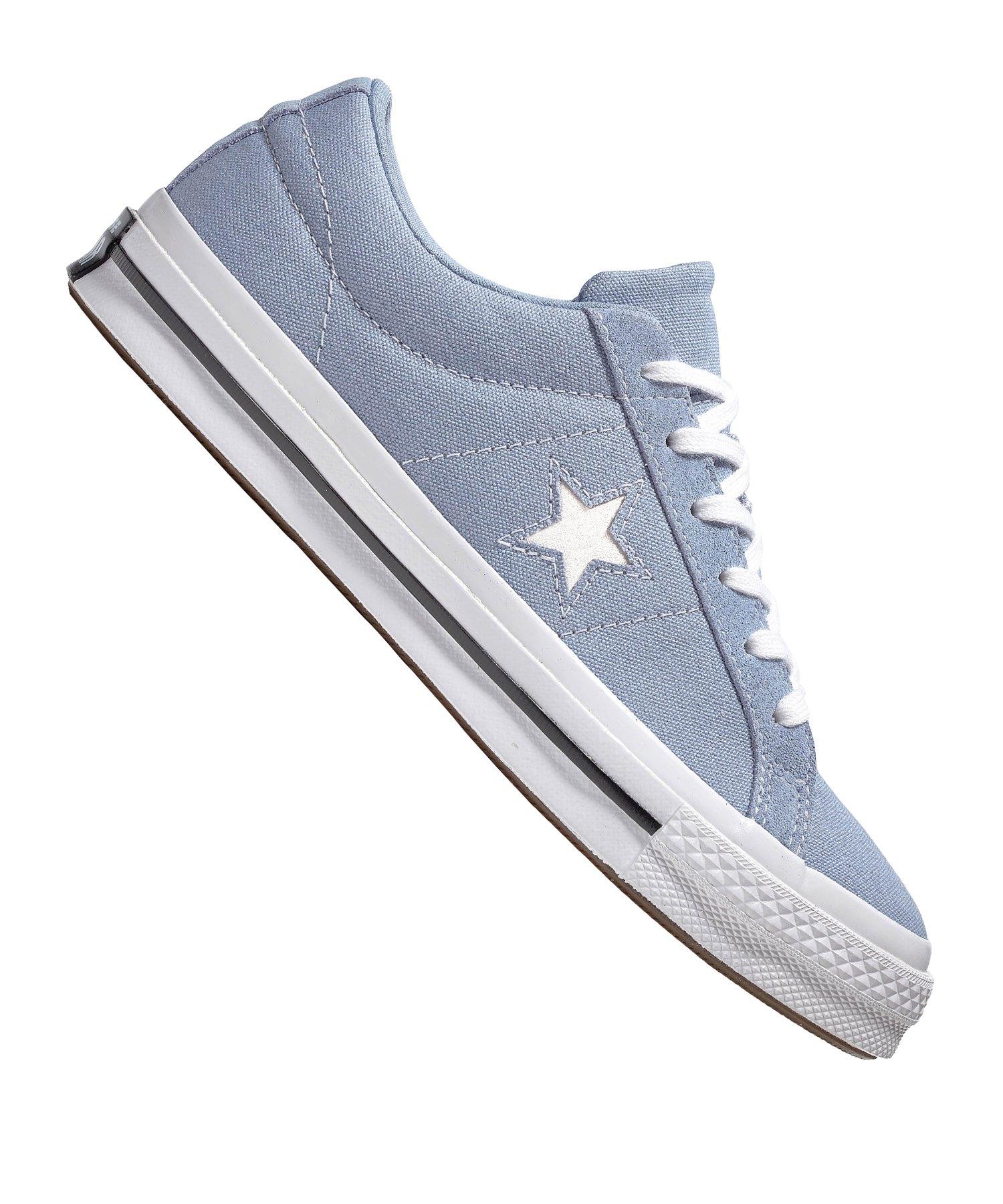 Converse One Star OX Sneaker Blau F416 - blau