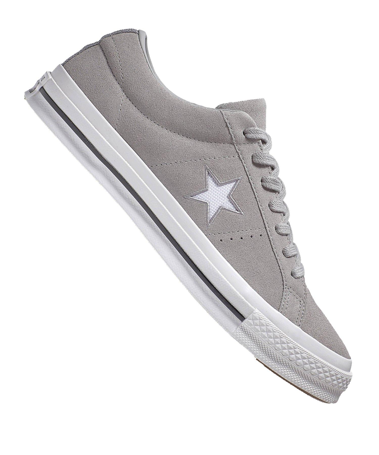 Converse One Star OX Sneaker Grau F020 - grau