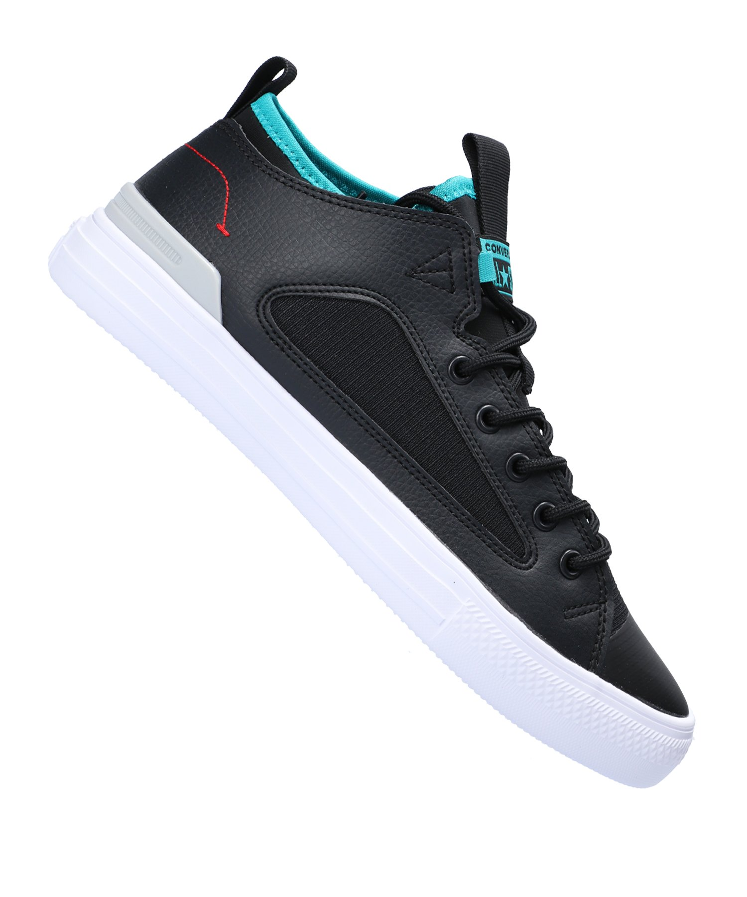 Converse CT AS Ultra OX Sneaker Schwarz Grün F001 - schwarz