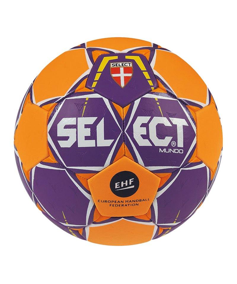 Select Trainingsball Mundo Gr.1 Lila Orange F996 - lila