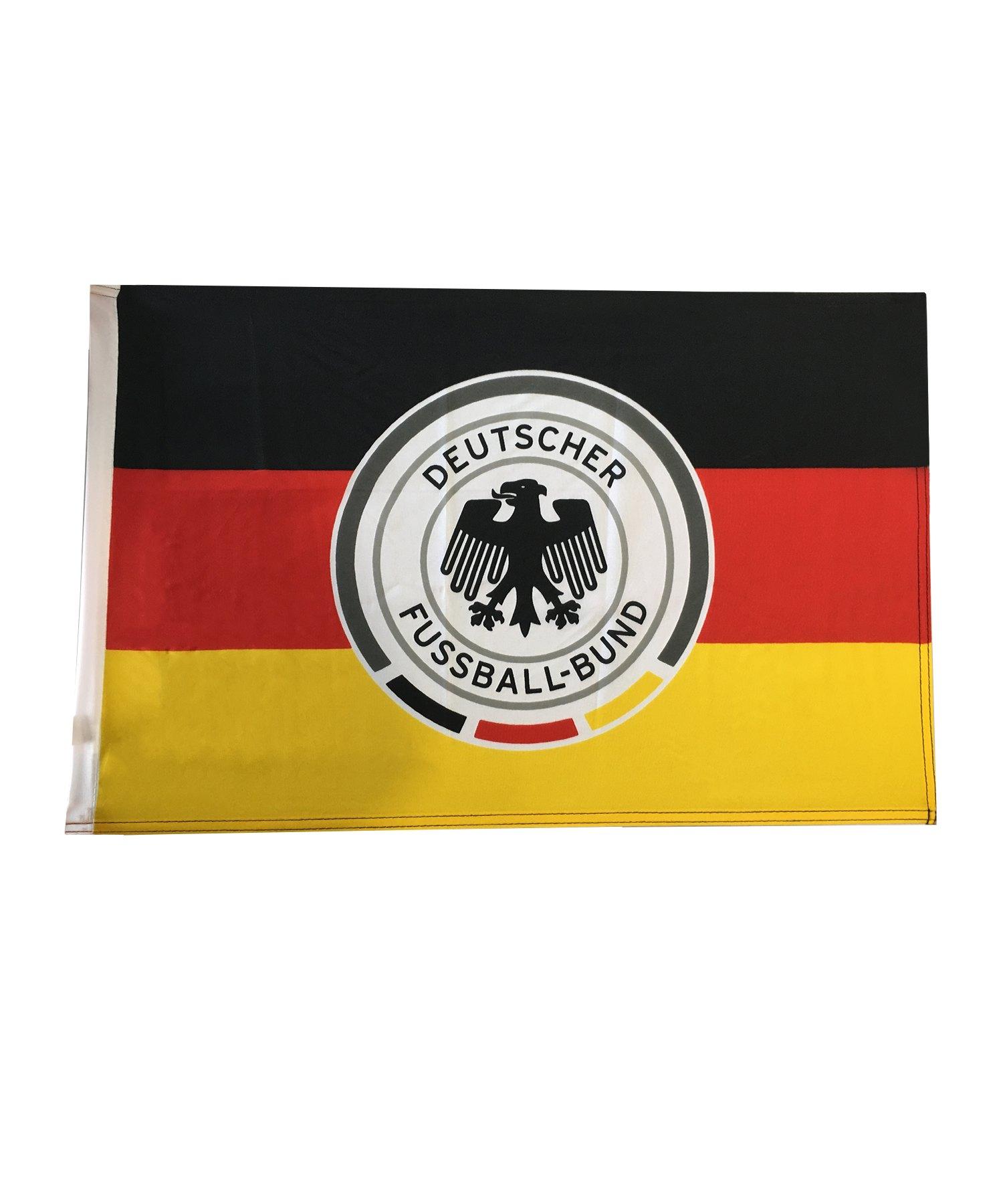 DFB Deutschland Schwenkfahne klein Schwarz Rot - Schwarz