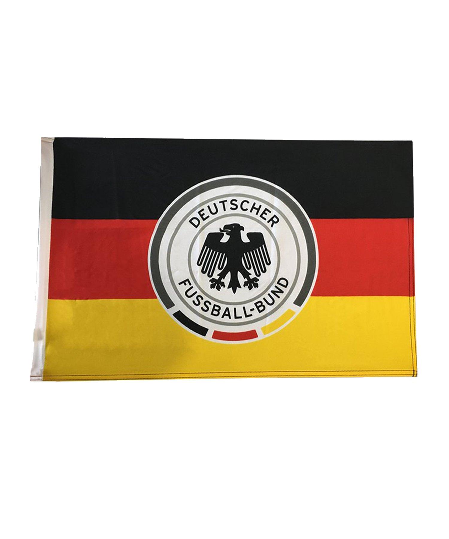 DFB Deutschland Schwenkfahne groß Schwarz Rot Gelb - Schwarz
