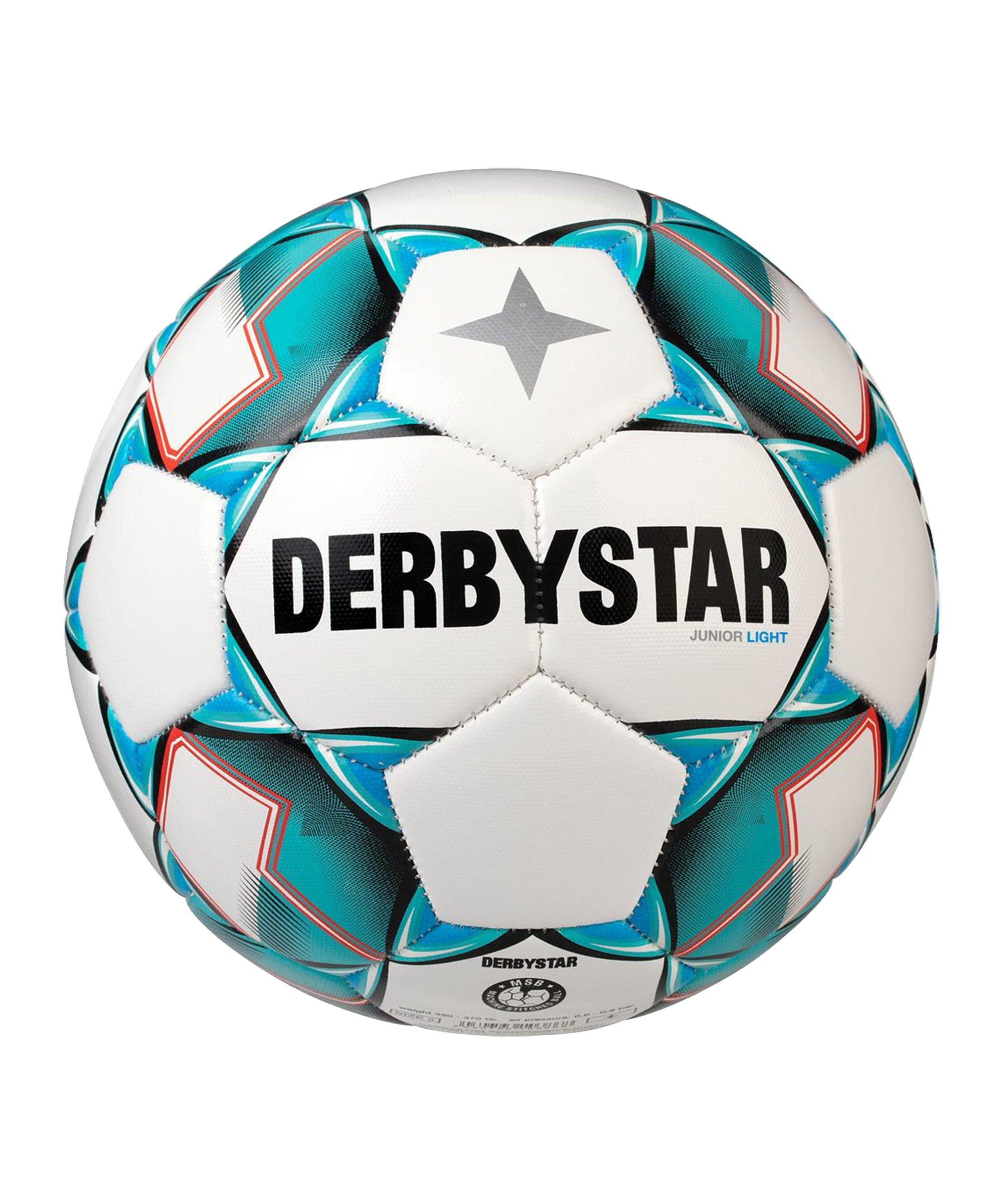 Derbystar Junior Light v20 Fussball F142 - weiss