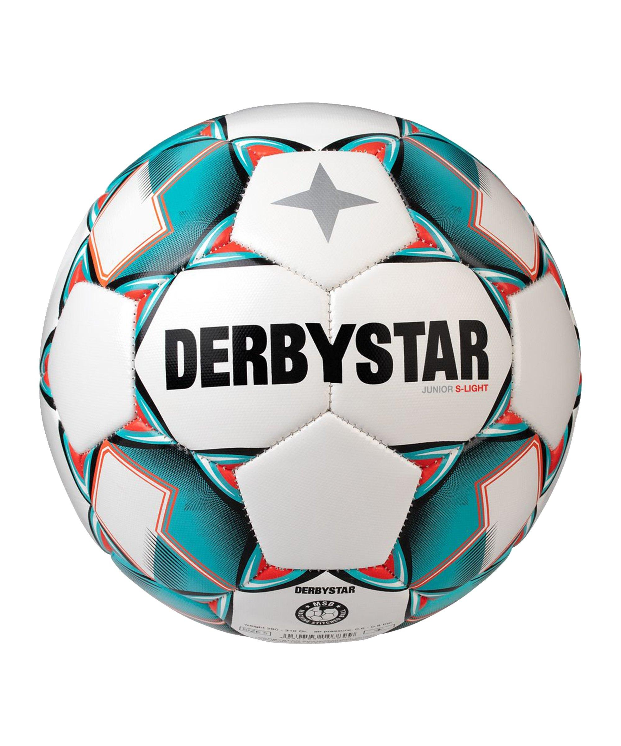Derbystar S-Light v20 Light Fussball Weiss F142 - weiss