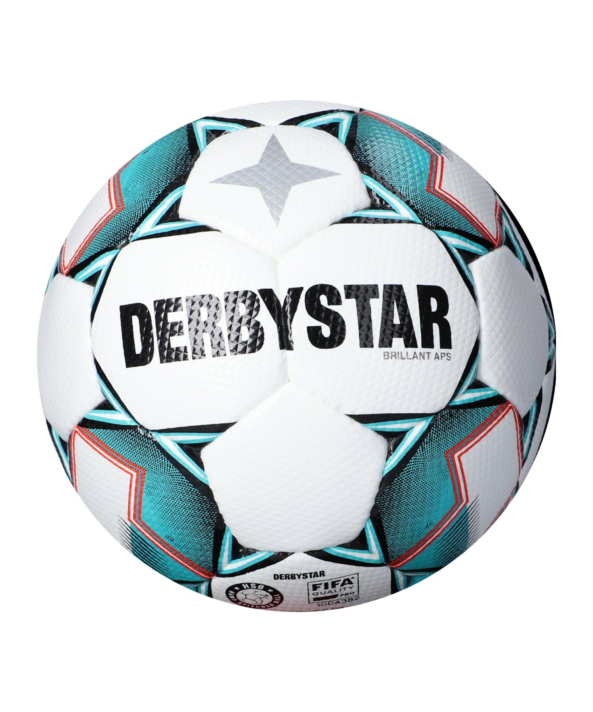 Derbystar Brillant APS V20 Spielball Weiss F142 - weiss