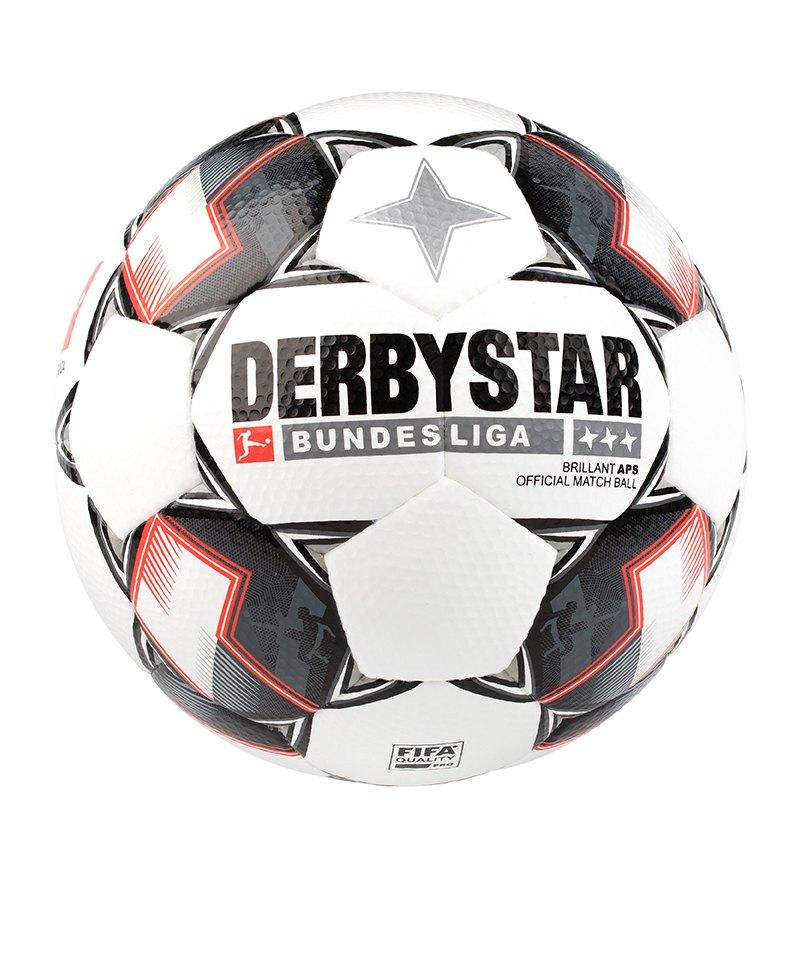 Derbystar Bundesliga Brillant APS Fussball Weiss F123 - weiss