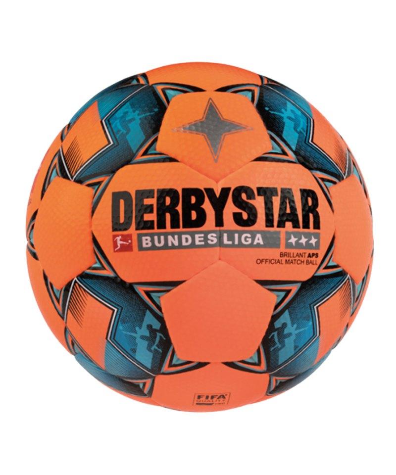 Derbystar Bundesliga Brillant APS Winter Fussball F729 - orange