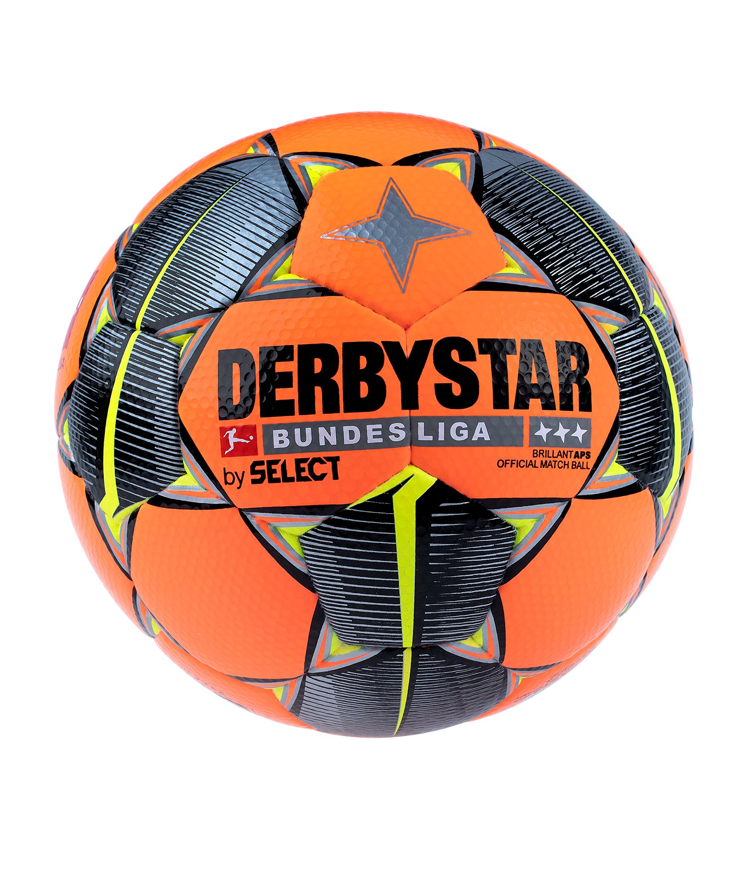 Derbystar Bundesliga Brillant APS Spielball Winter Orange F019 - orange
