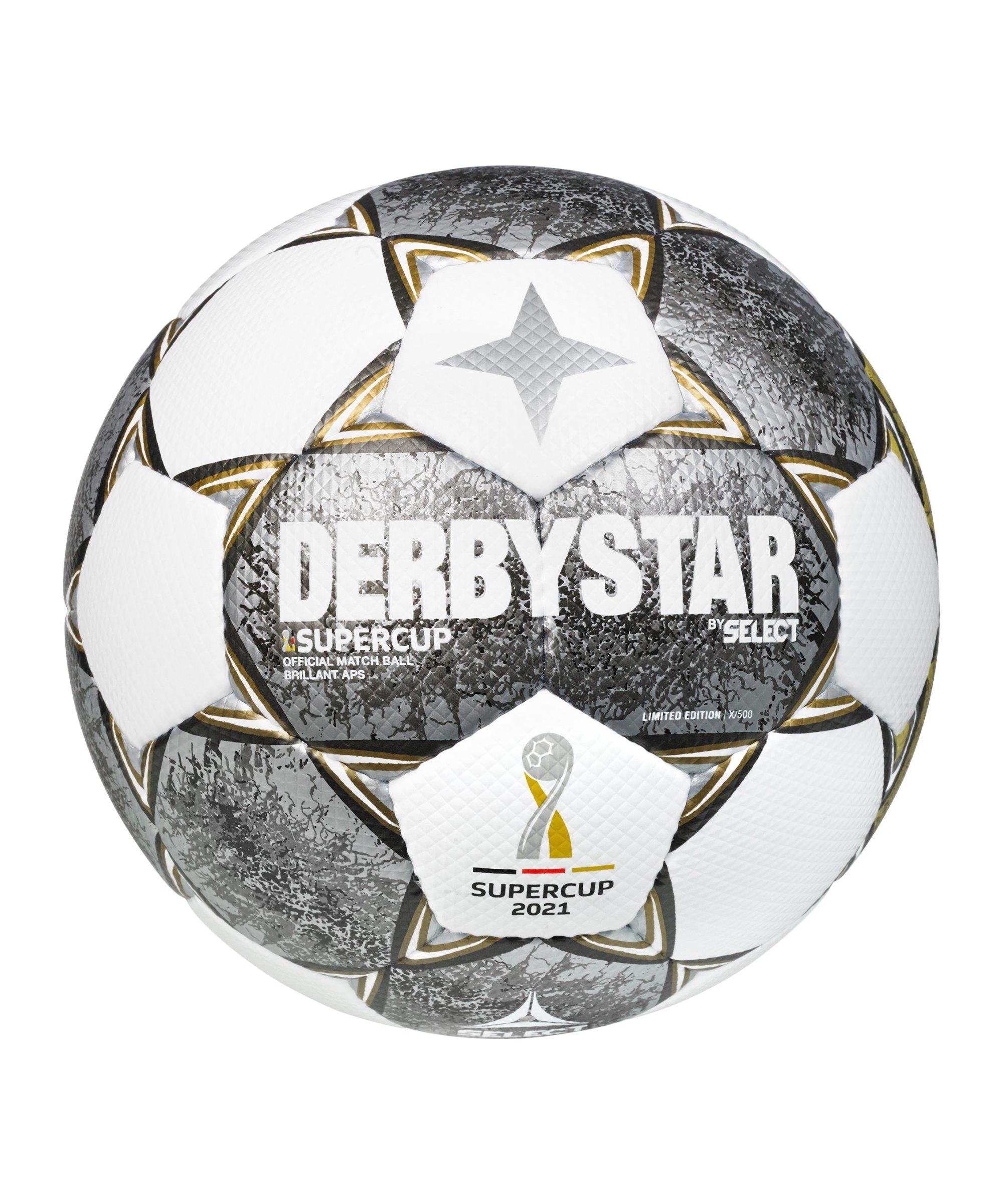 Derbystar Brillant APS Super Cup v21 Spielball F21 - weiss