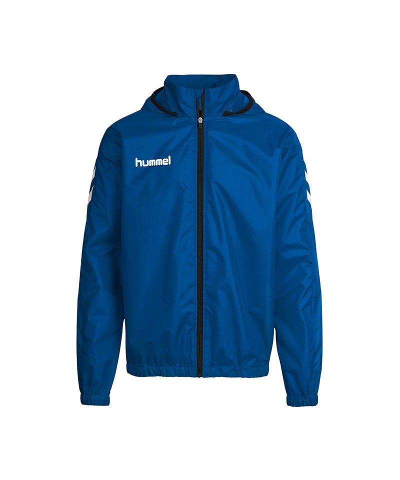 Hummel Core Allwetterjacke Kids Blau F7045 - blau